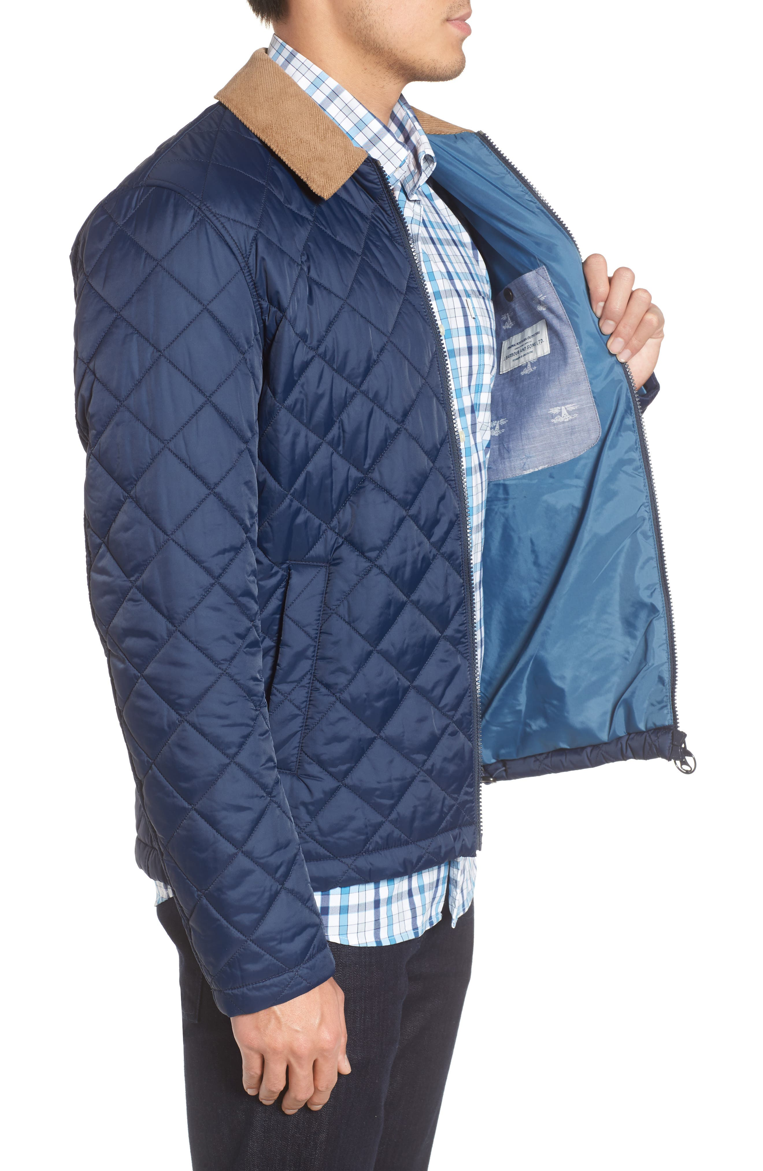 Helm Quilted Jacket,                             Alternate thumbnail 9, color,