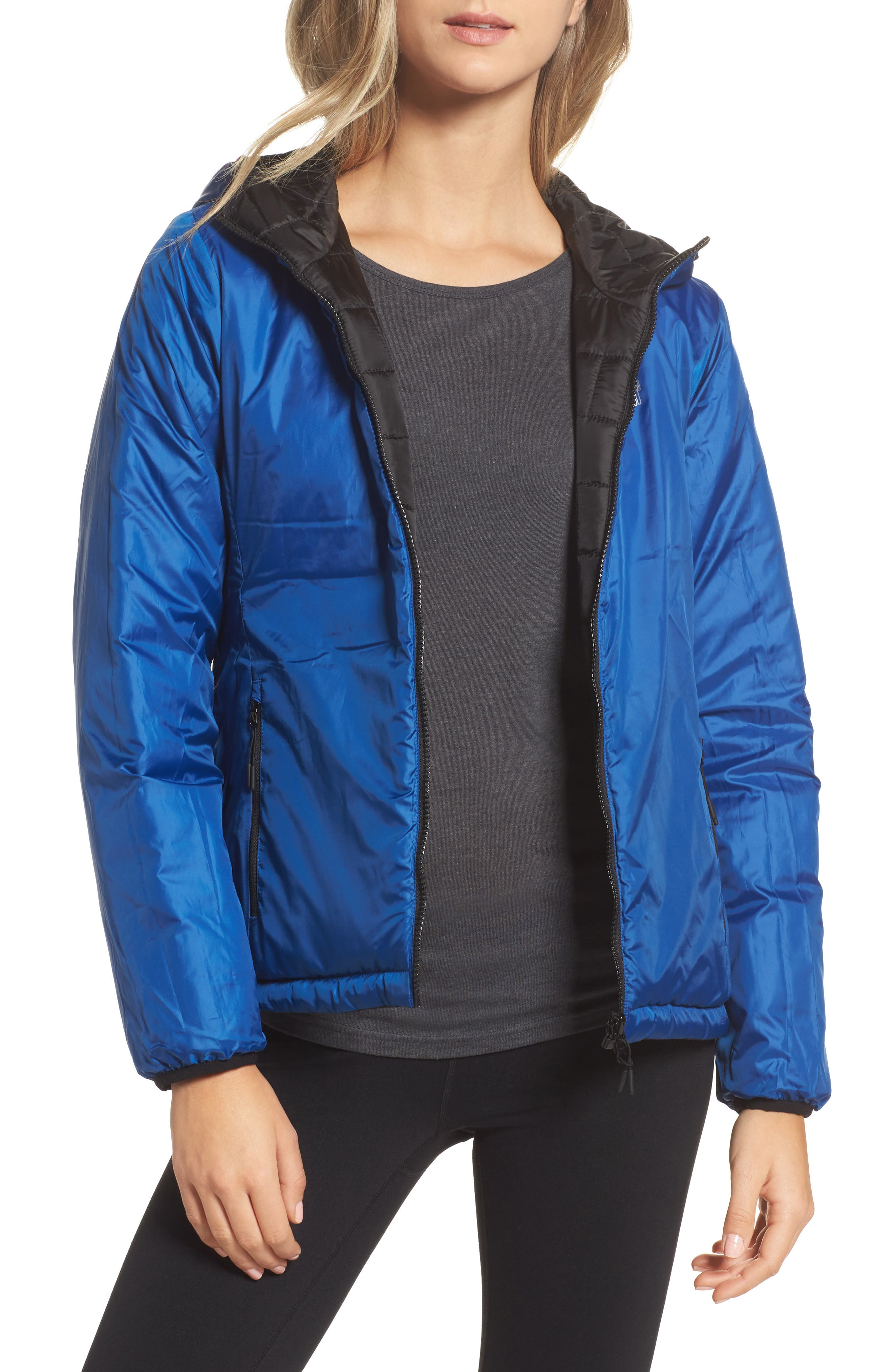Highland Reversible Water-Resistant & Windproof Quilted Puffer Jacket,                             Alternate thumbnail 3, color,