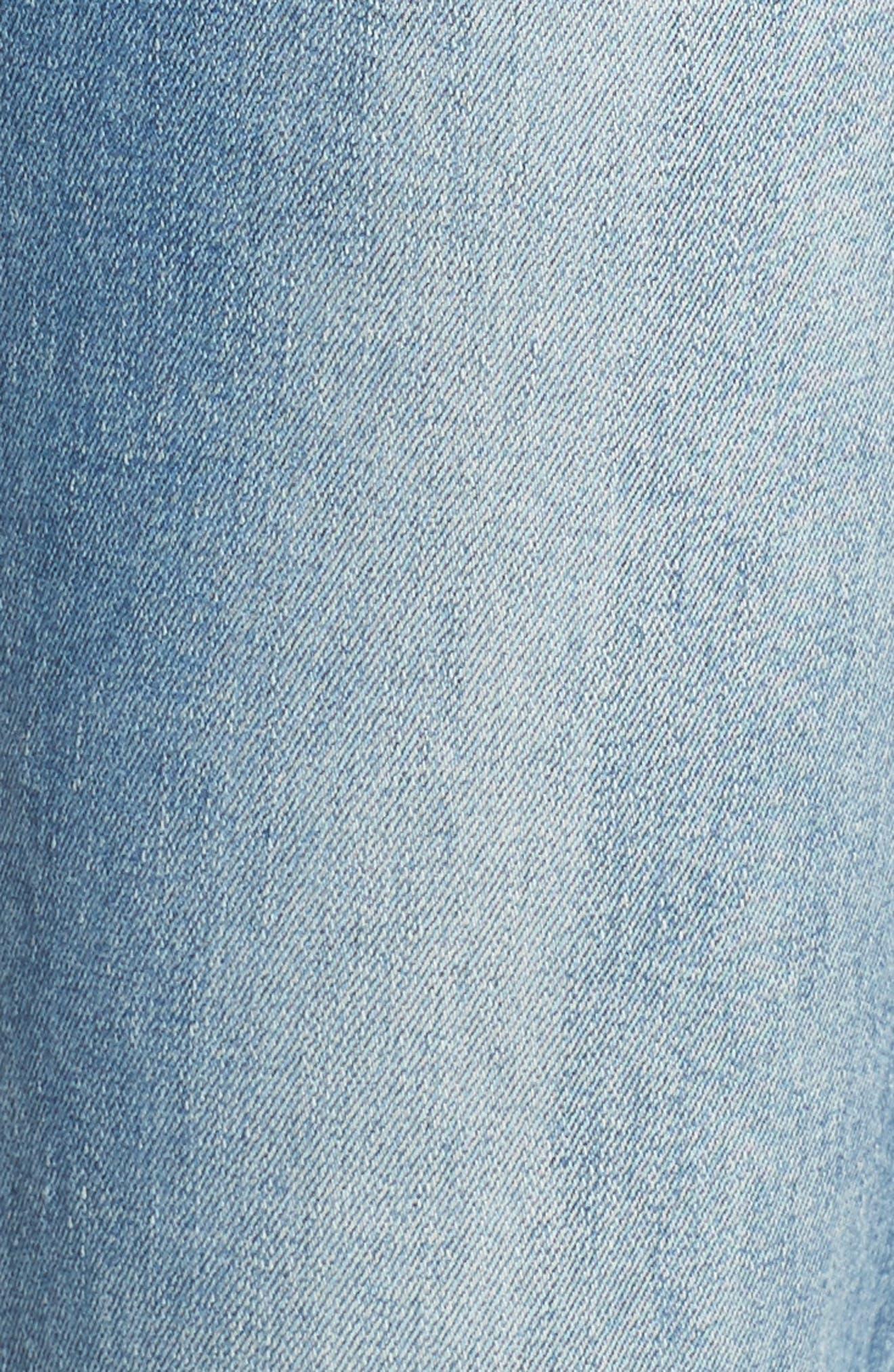Mara Step Hem Ankle Jeans,                             Alternate thumbnail 6, color,                             425