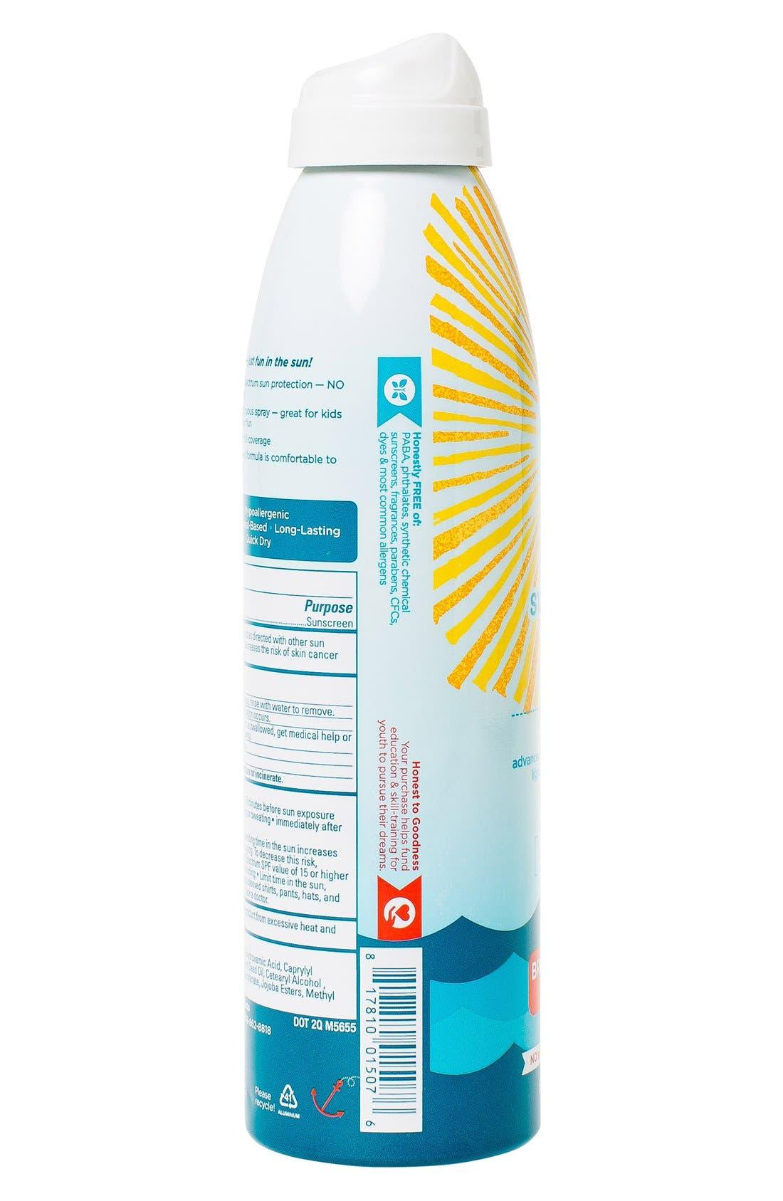 SPF30 Sunscreen Spray,                             Alternate thumbnail 2, color,                             000
