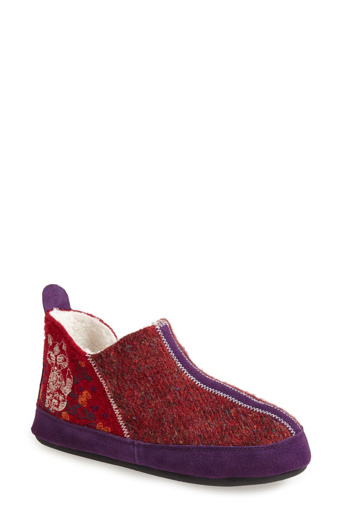 'Forest' Bootie Slipper,                             Main thumbnail 4, color,