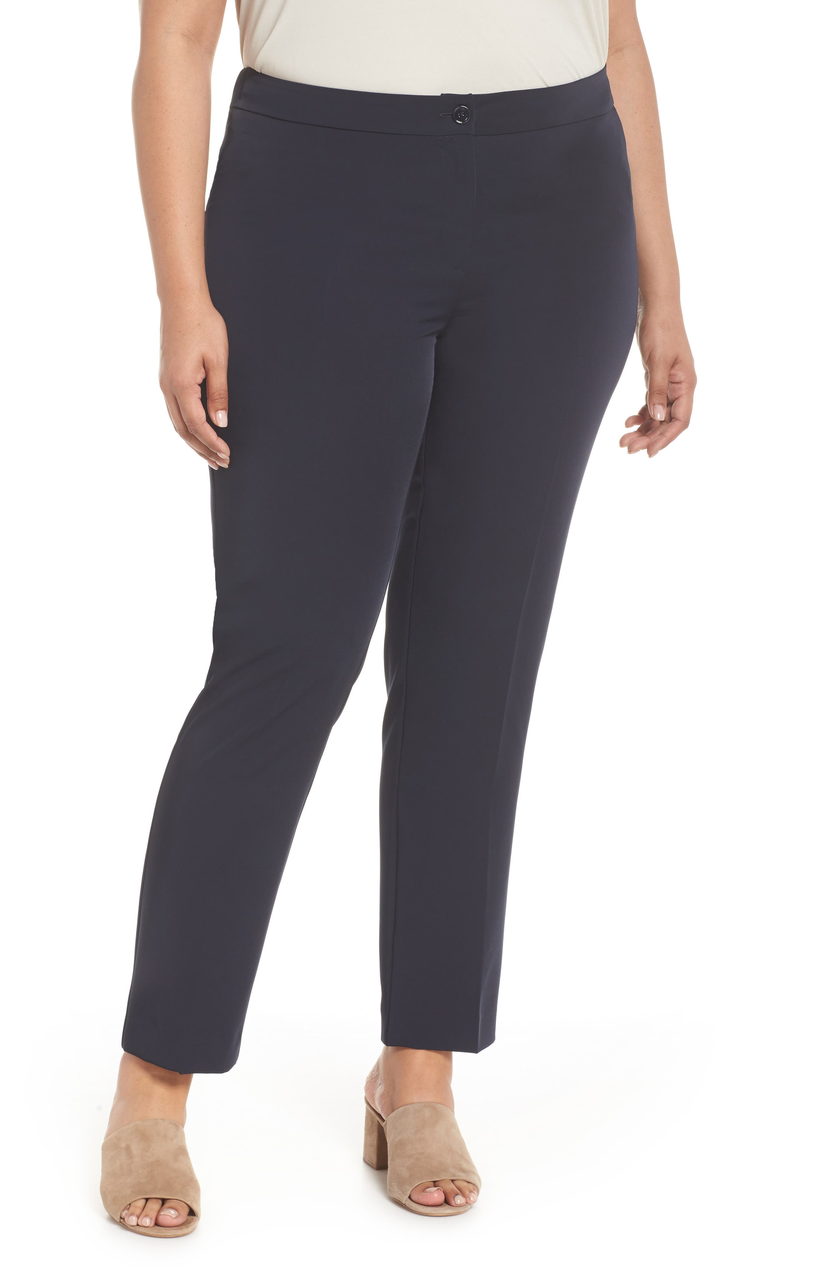 Slim Leg Pants,                             Main thumbnail 1, color,                             411