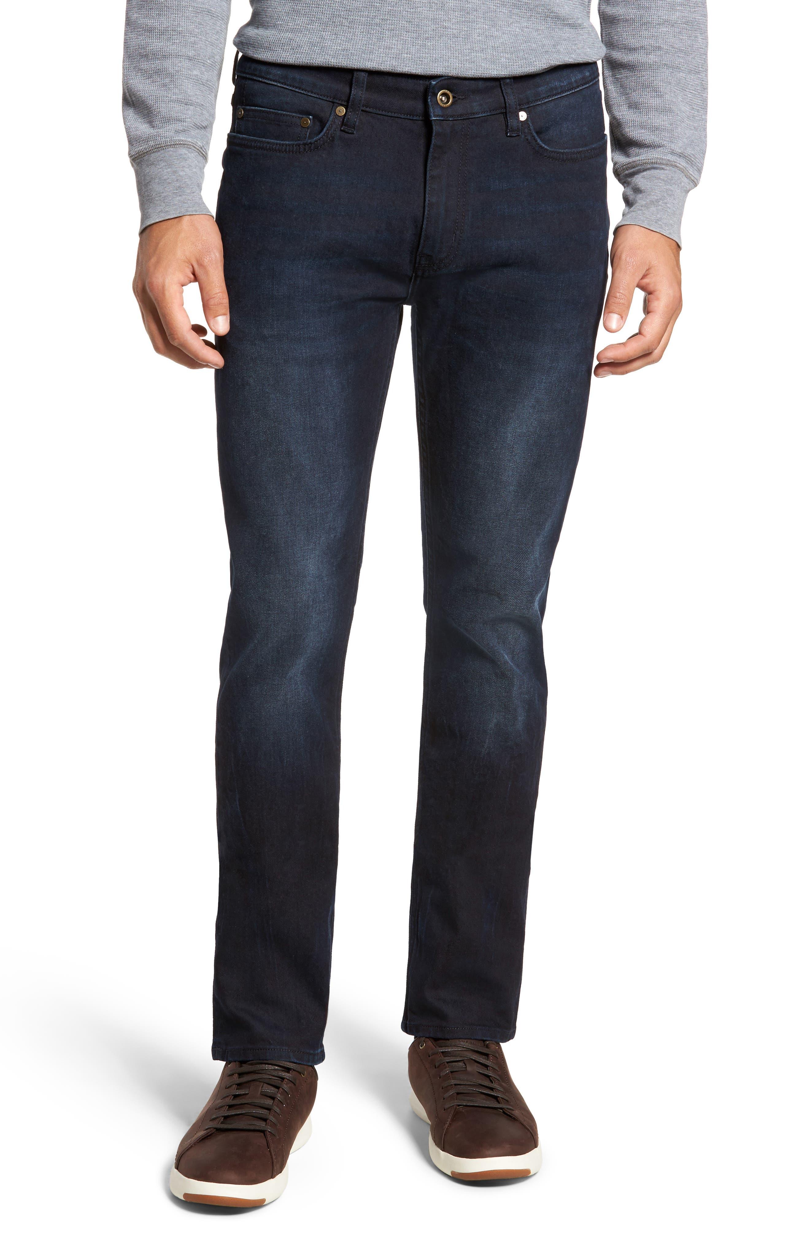 Mapleton Slim Fit Jeans,                             Main thumbnail 1, color,                             DENIM