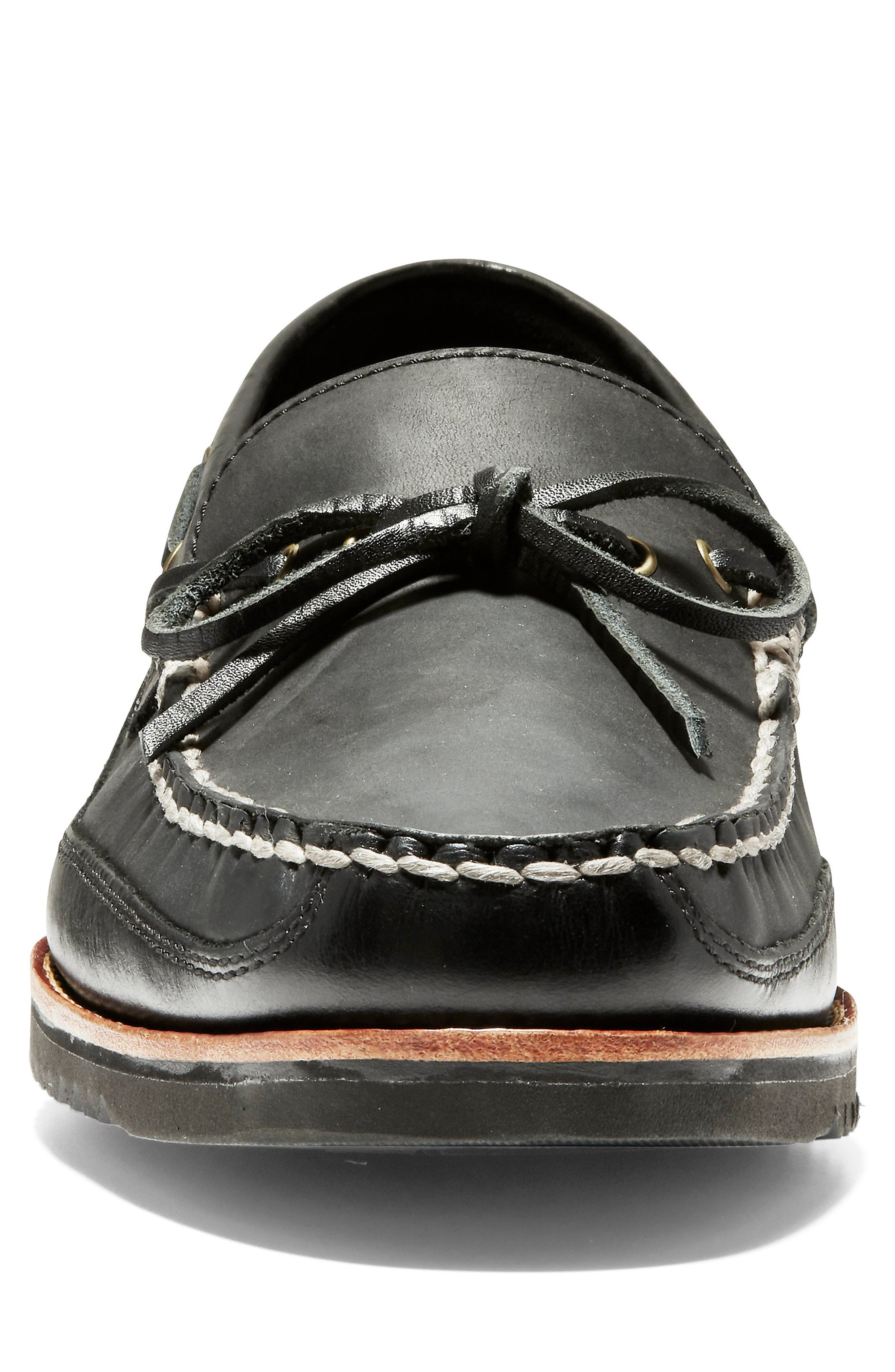 Pinch Loafer,                             Alternate thumbnail 4, color,                             001