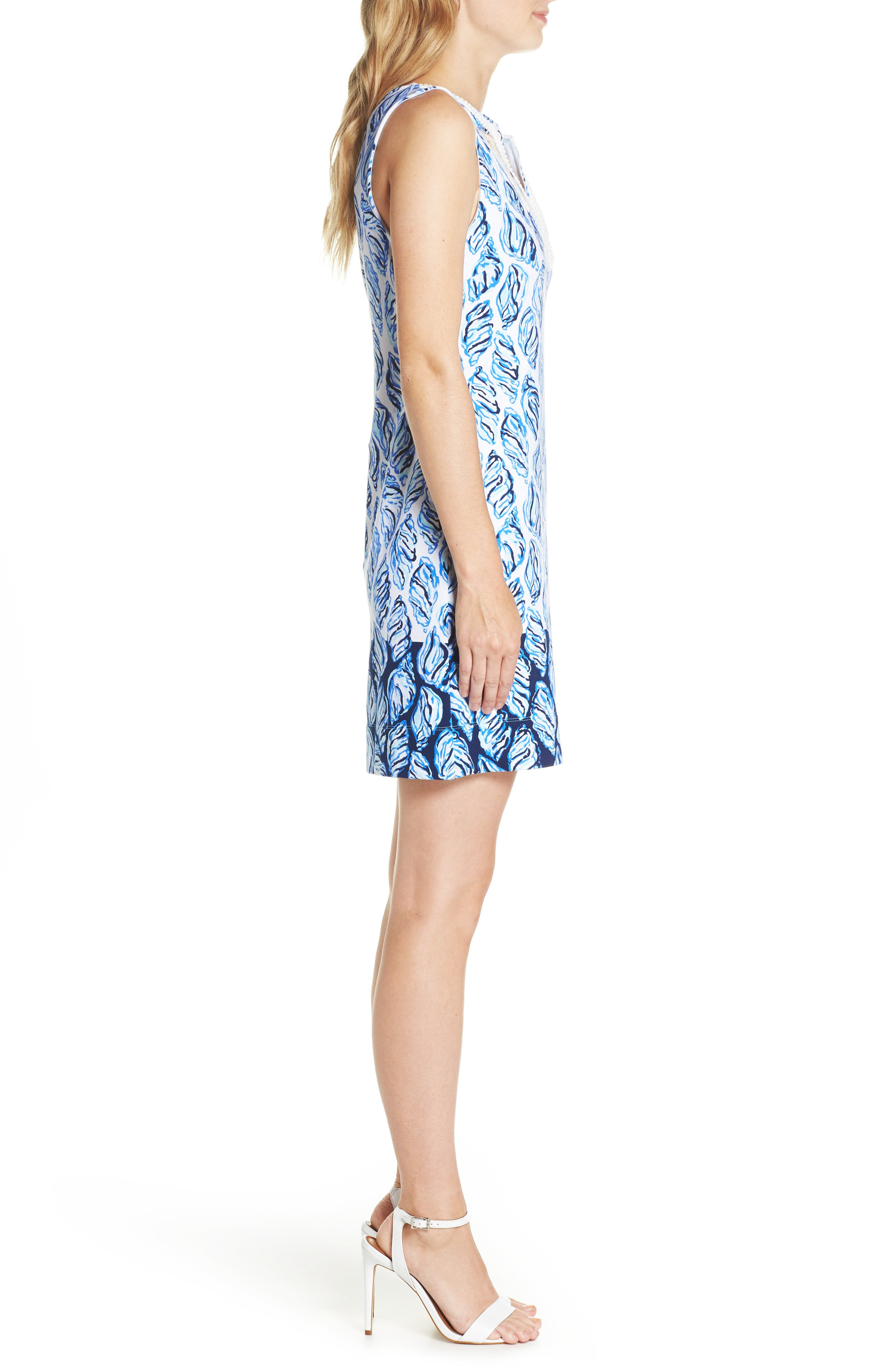 LILLY PULITZER<SUP>®</SUP>,                             Harper Shift Dress,                             Alternate thumbnail 3, color,                             100