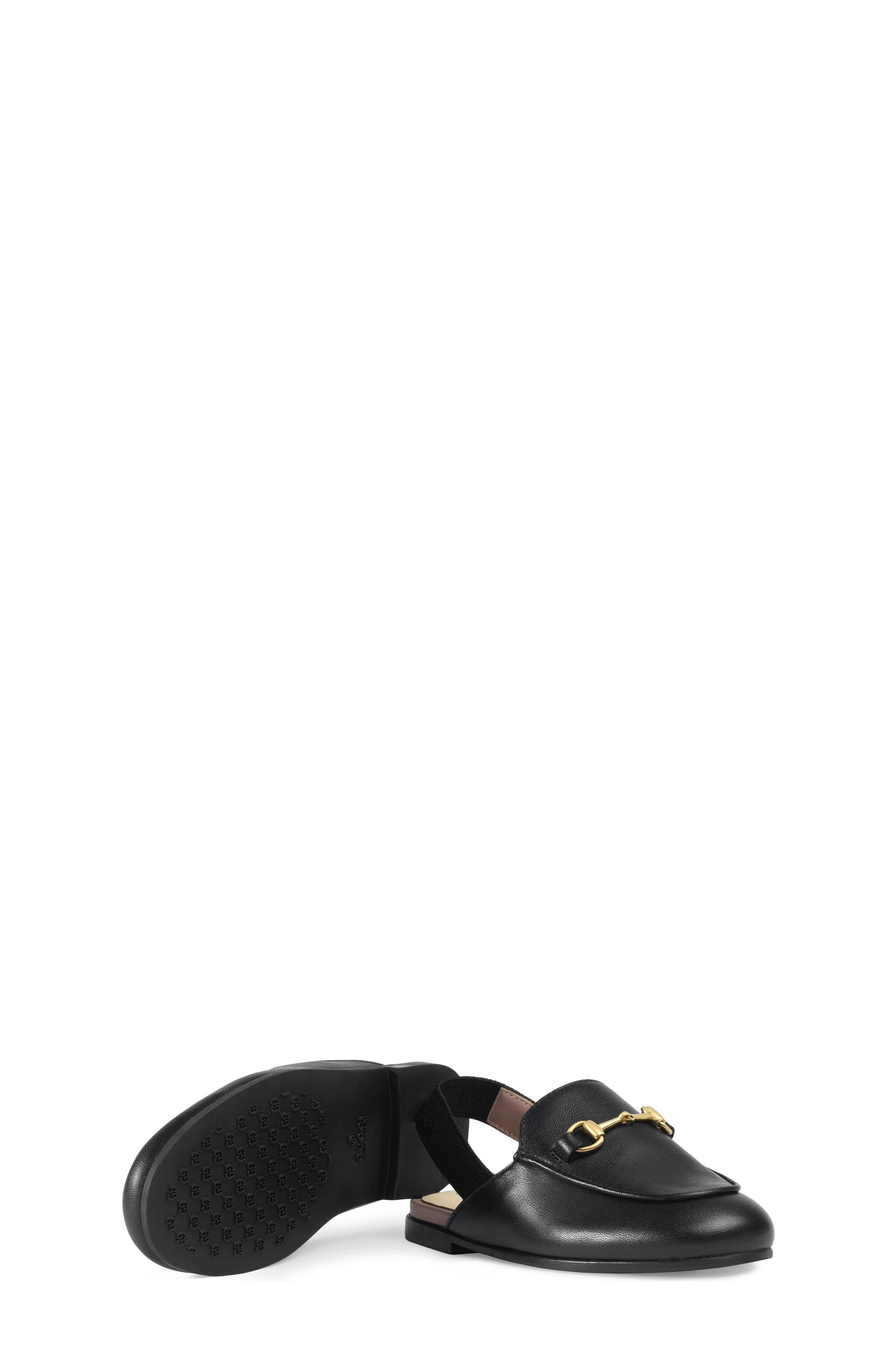 Princetown Loafer Mule,                             Alternate thumbnail 7, color,                             BLACK/ BLACK