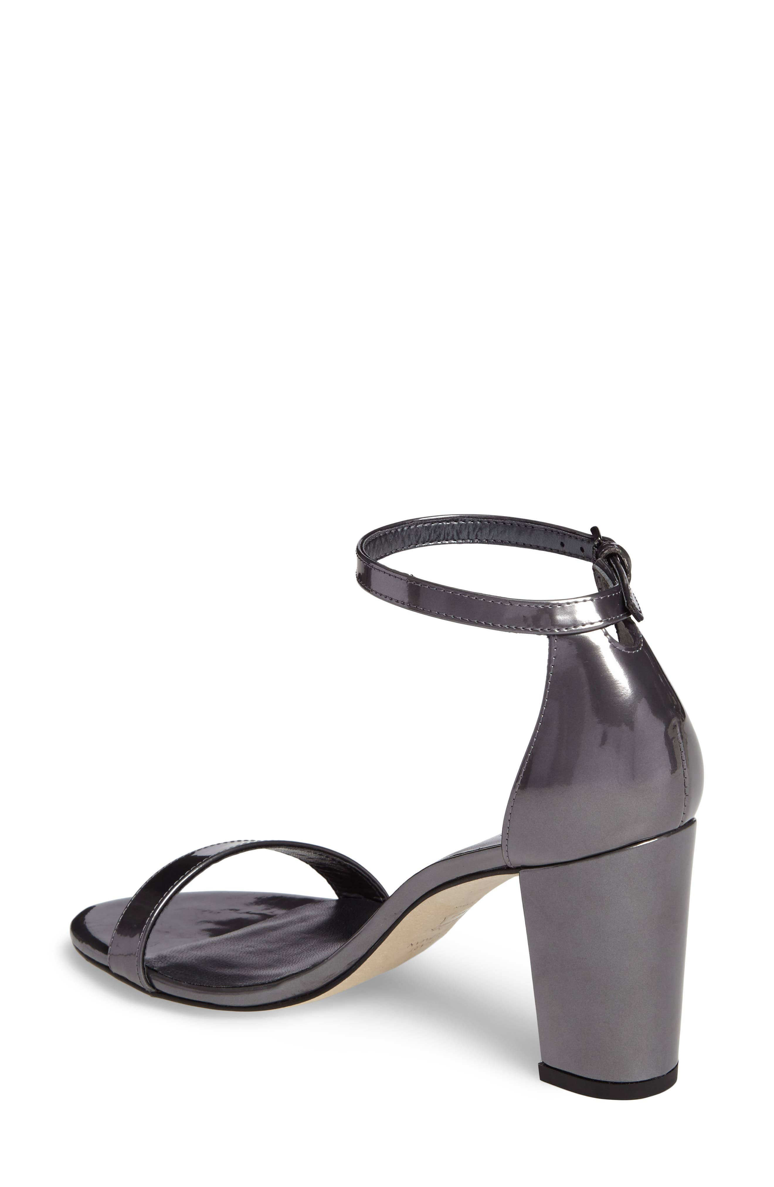 NearlyNude Ankle Strap Sandal,                             Alternate thumbnail 39, color,