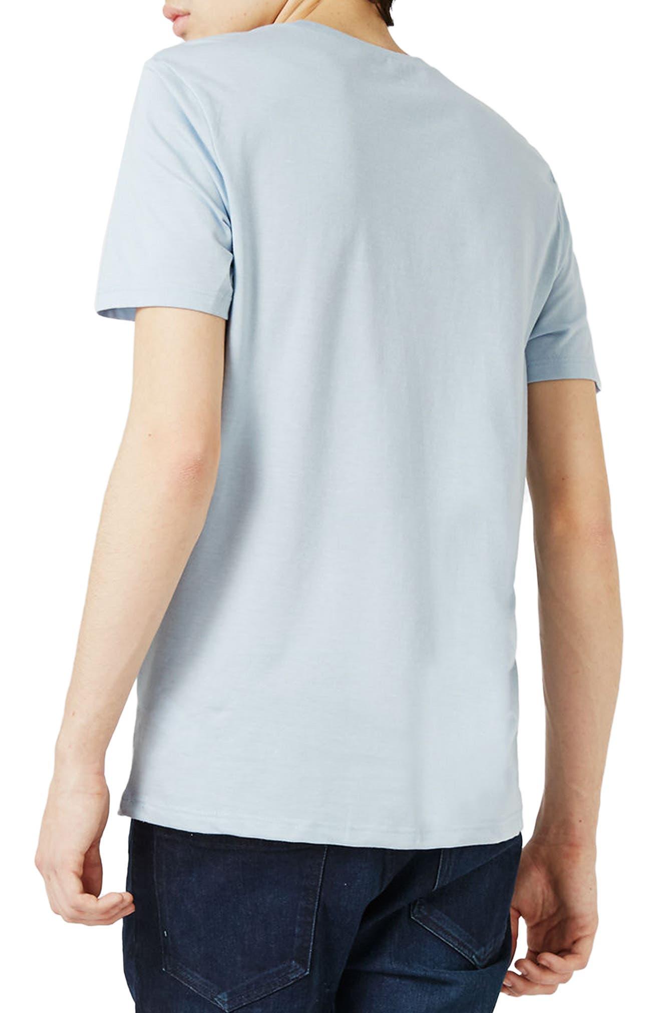 Slim Fit Crewneck T-Shirt,                             Alternate thumbnail 168, color,