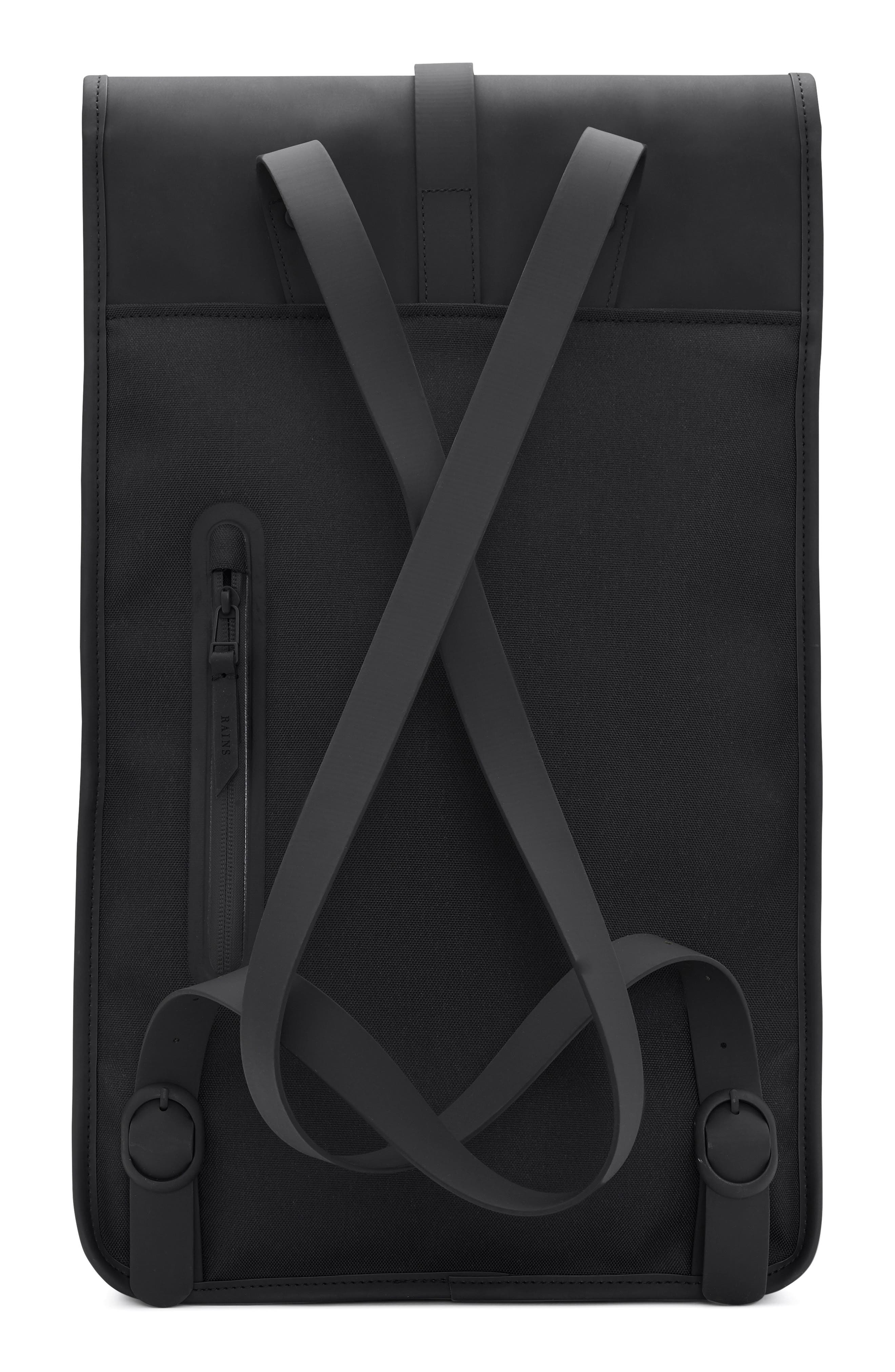 Waterproof Backpack,                             Alternate thumbnail 3, color,                             BLACK/ STONE
