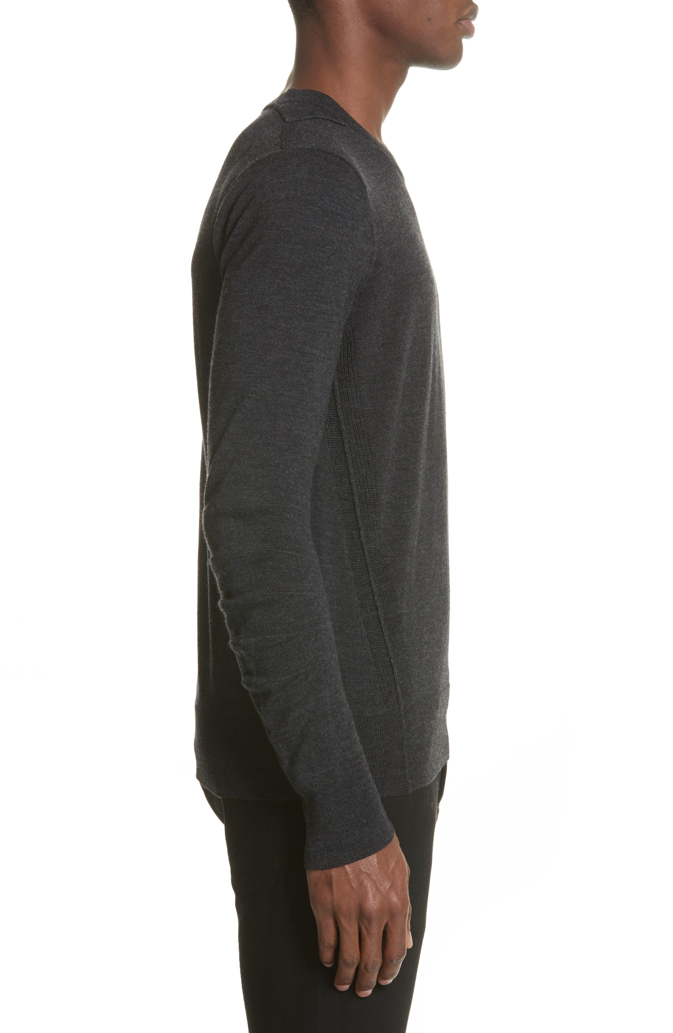 Carter Merino Wool Crewneck Sweater,                             Alternate thumbnail 8, color,