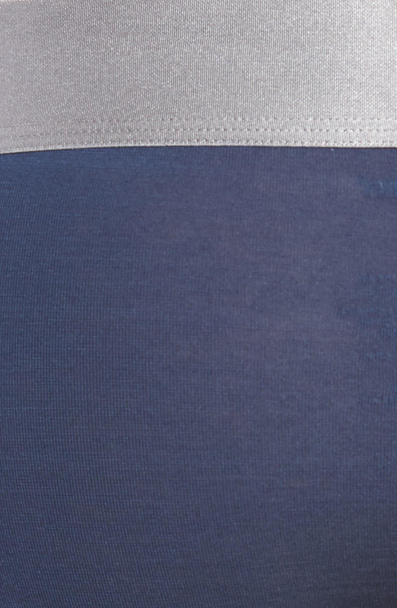 Second Skin Titanium Briefs,                             Alternate thumbnail 5, color,                             DRESS BLUES
