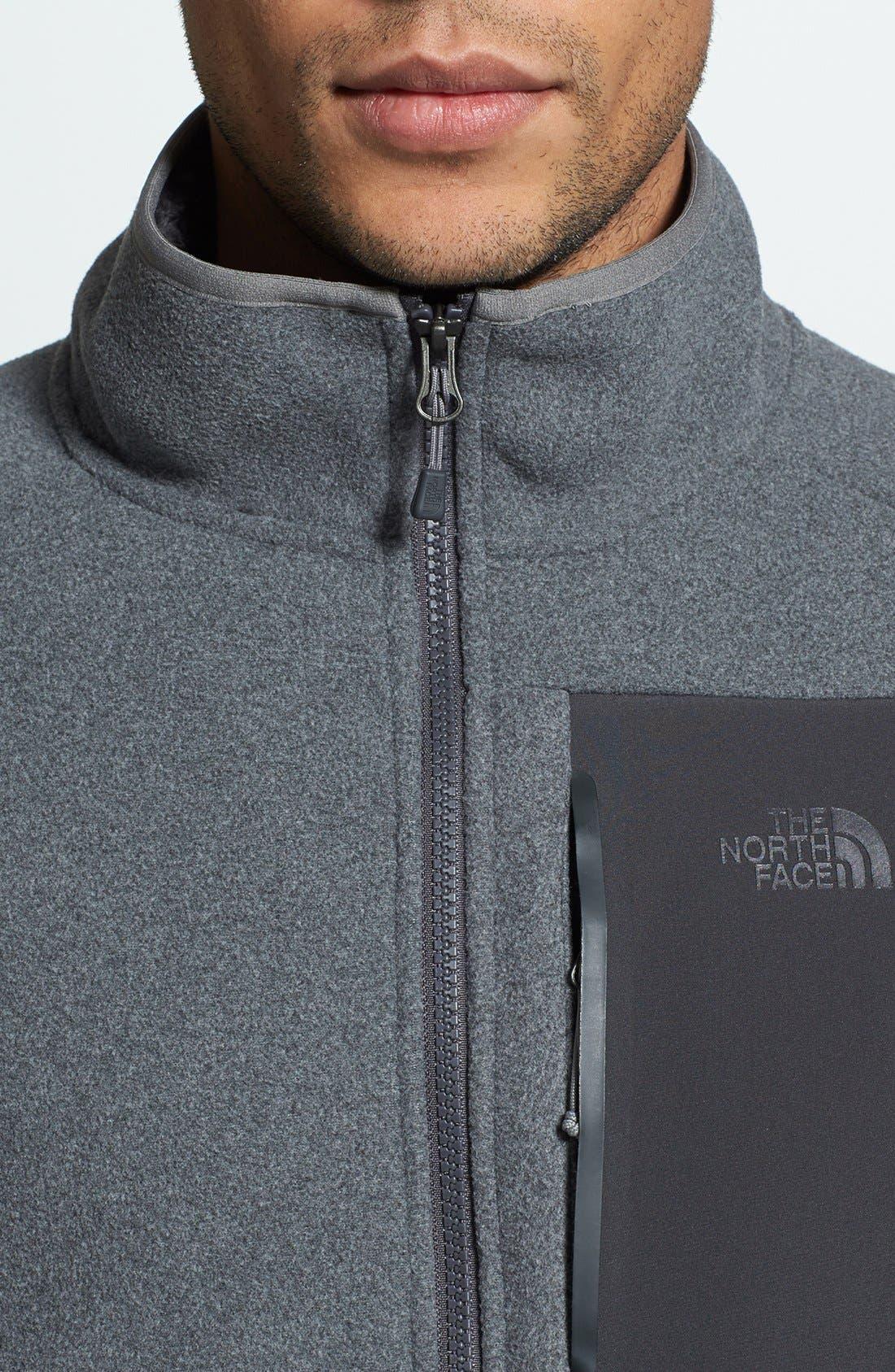 'Chimborazo' Zip Front Fleece Jacket,                             Alternate thumbnail 35, color,