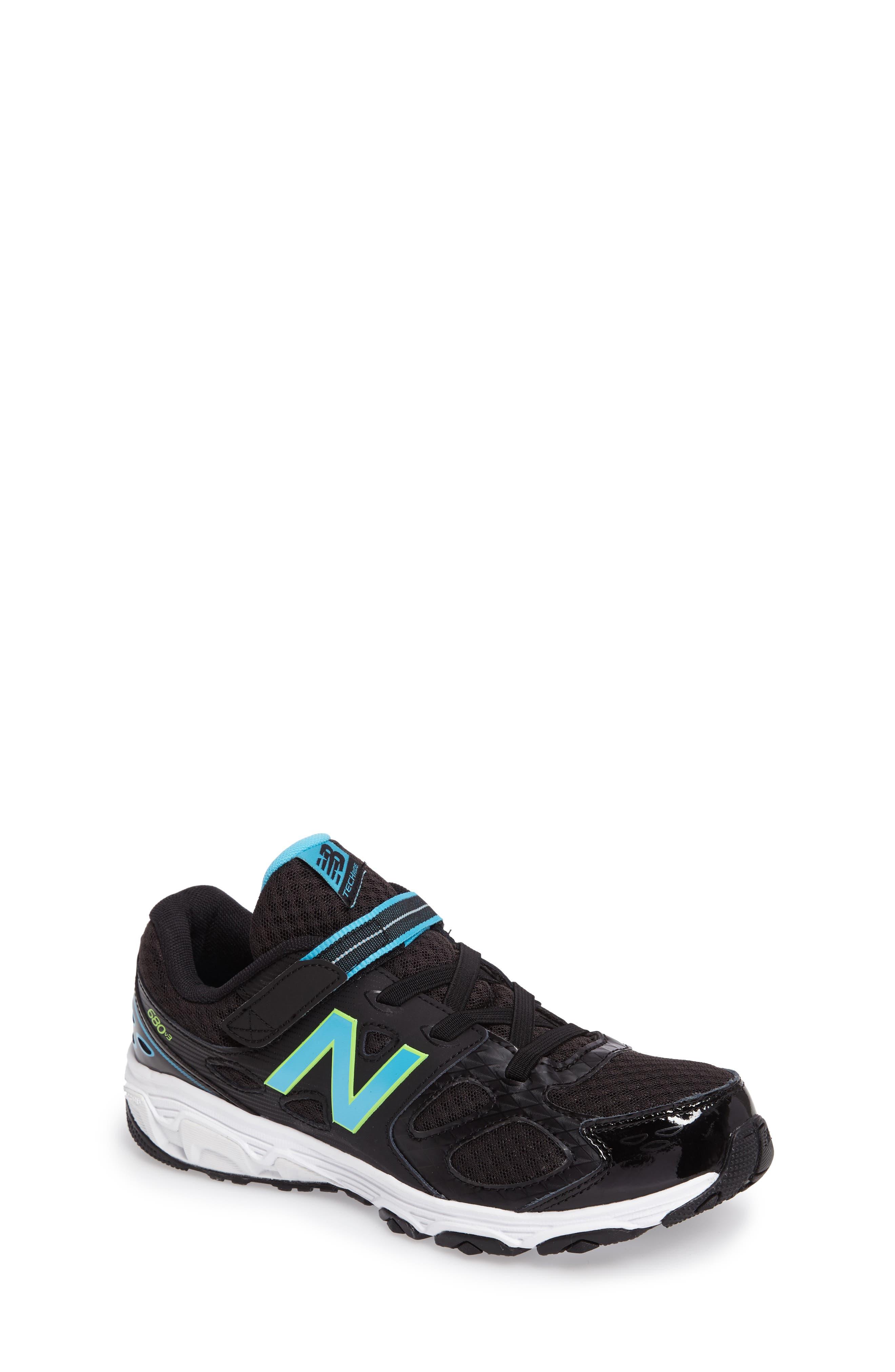 680v3 Sneaker,                         Main,                         color, BLACK/BLUE