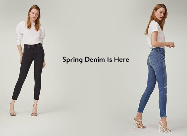 Spring denim for women is here.