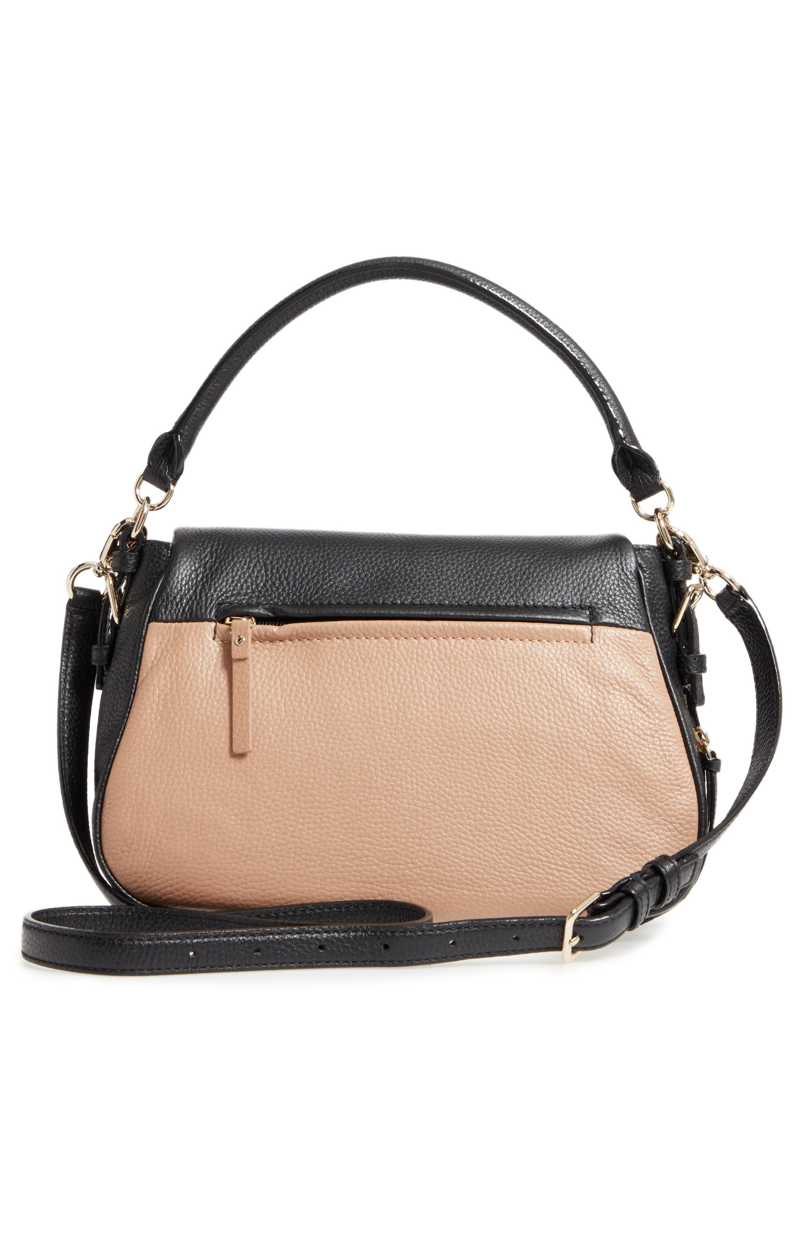 cobble hill - deva leather crossbody bag,                             Alternate thumbnail 17, color,
