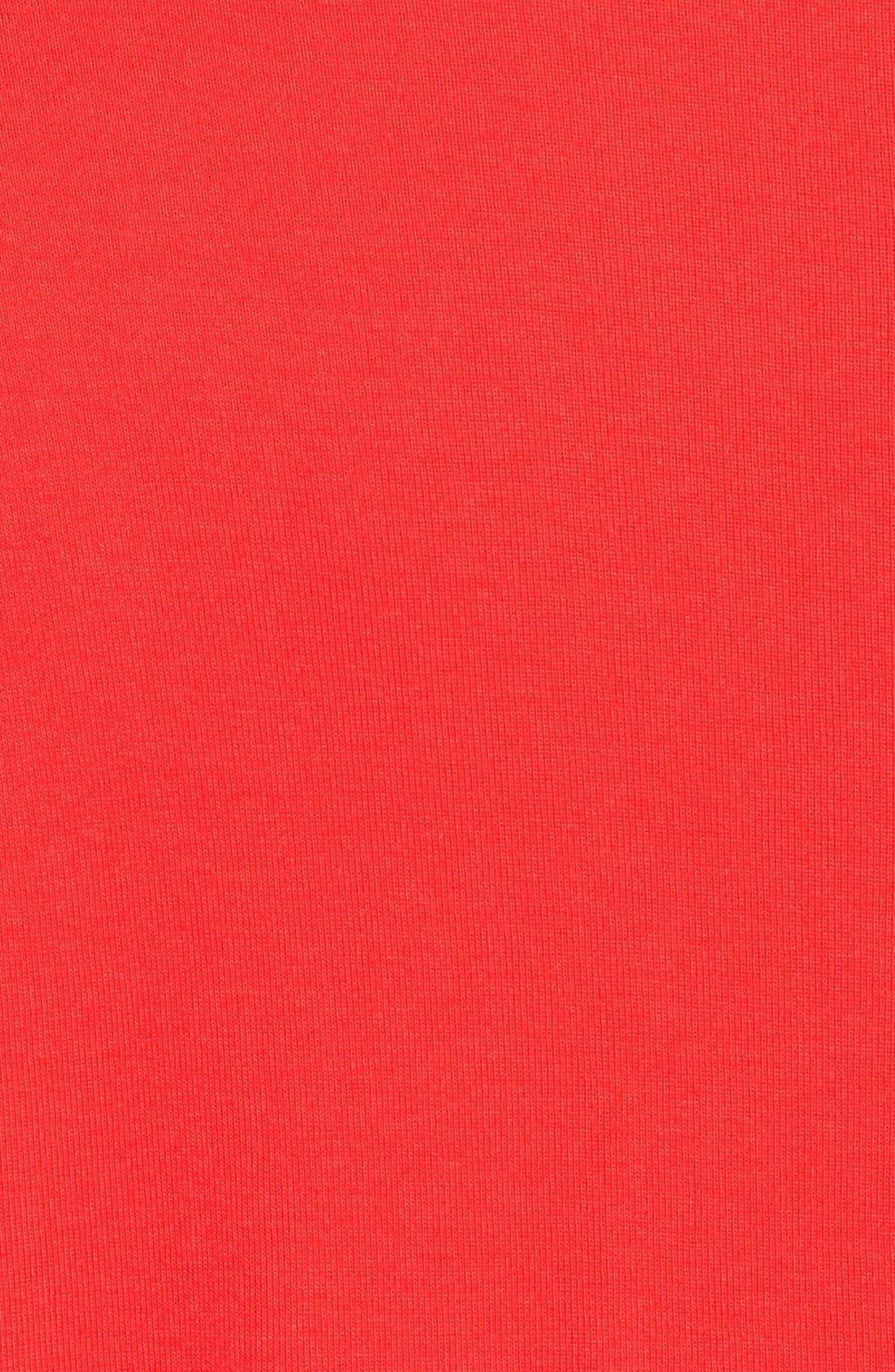 Short Sleeve V-Neck Tee,                             Alternate thumbnail 166, color,