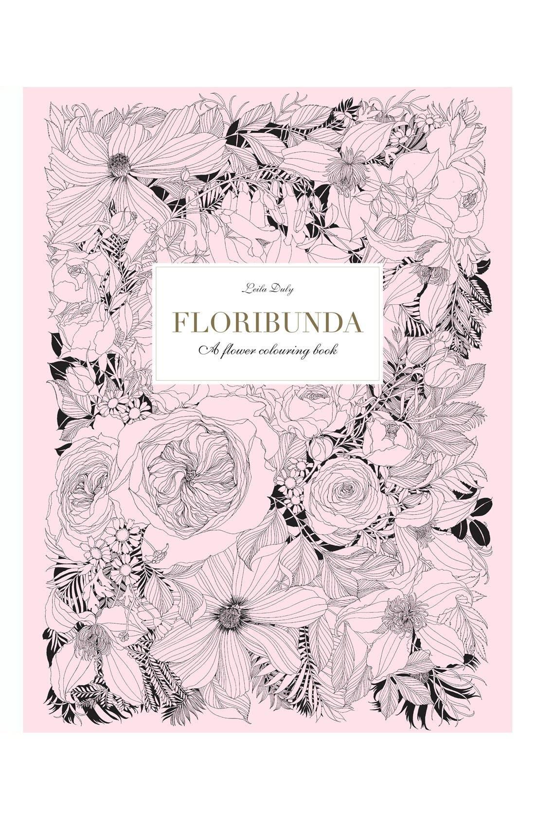 'Floribunda' Coloring Book,                             Main thumbnail 1, color,                             650