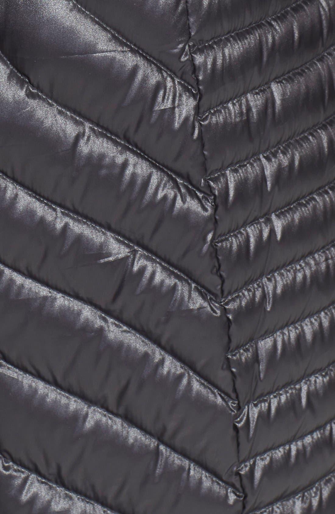 BERNARDO,                             Hooded Packable Goose Down Walking Coat,                             Alternate thumbnail 2, color,                             002