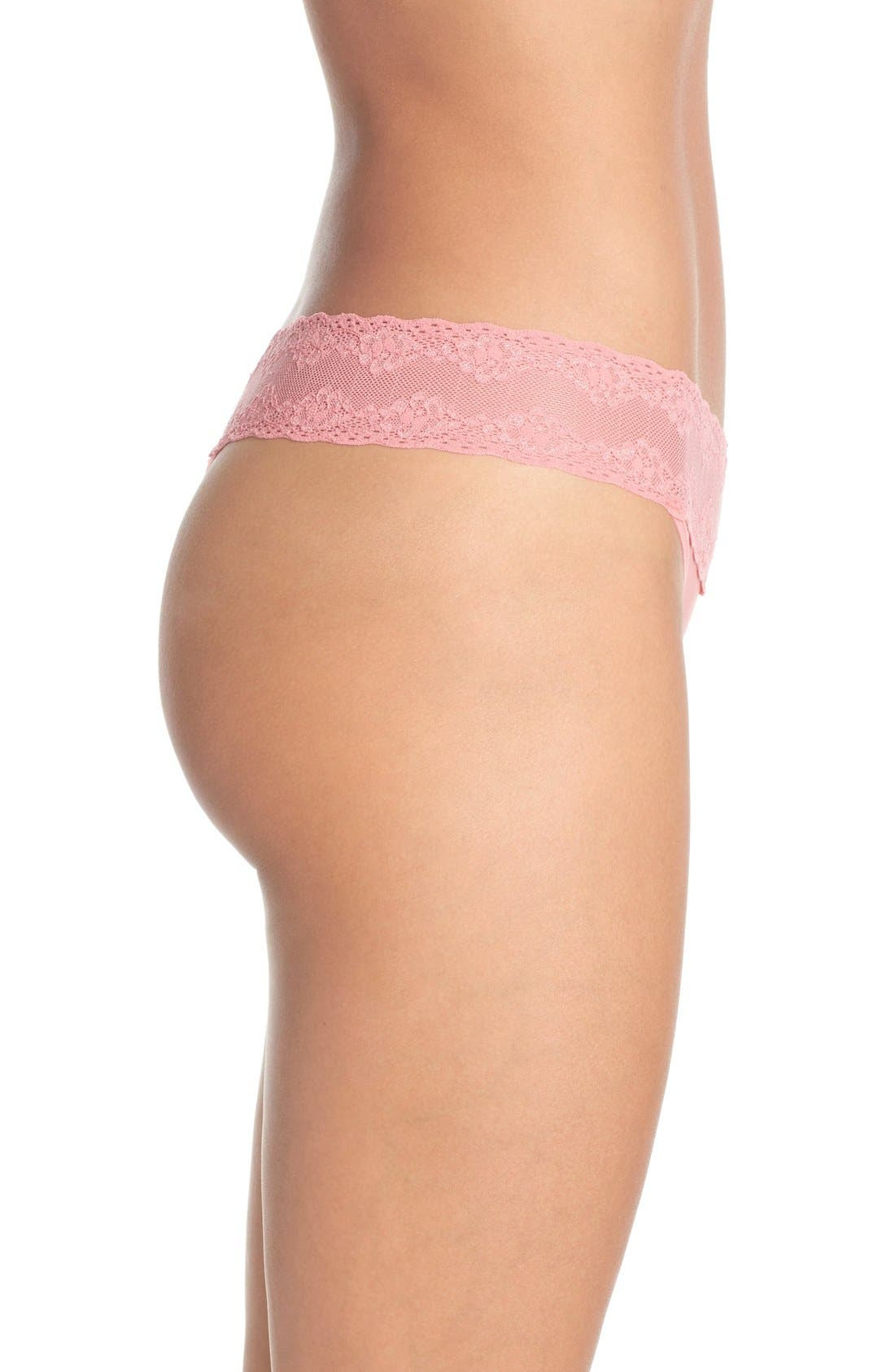 Bliss Perfection Thong,                             Alternate thumbnail 285, color,