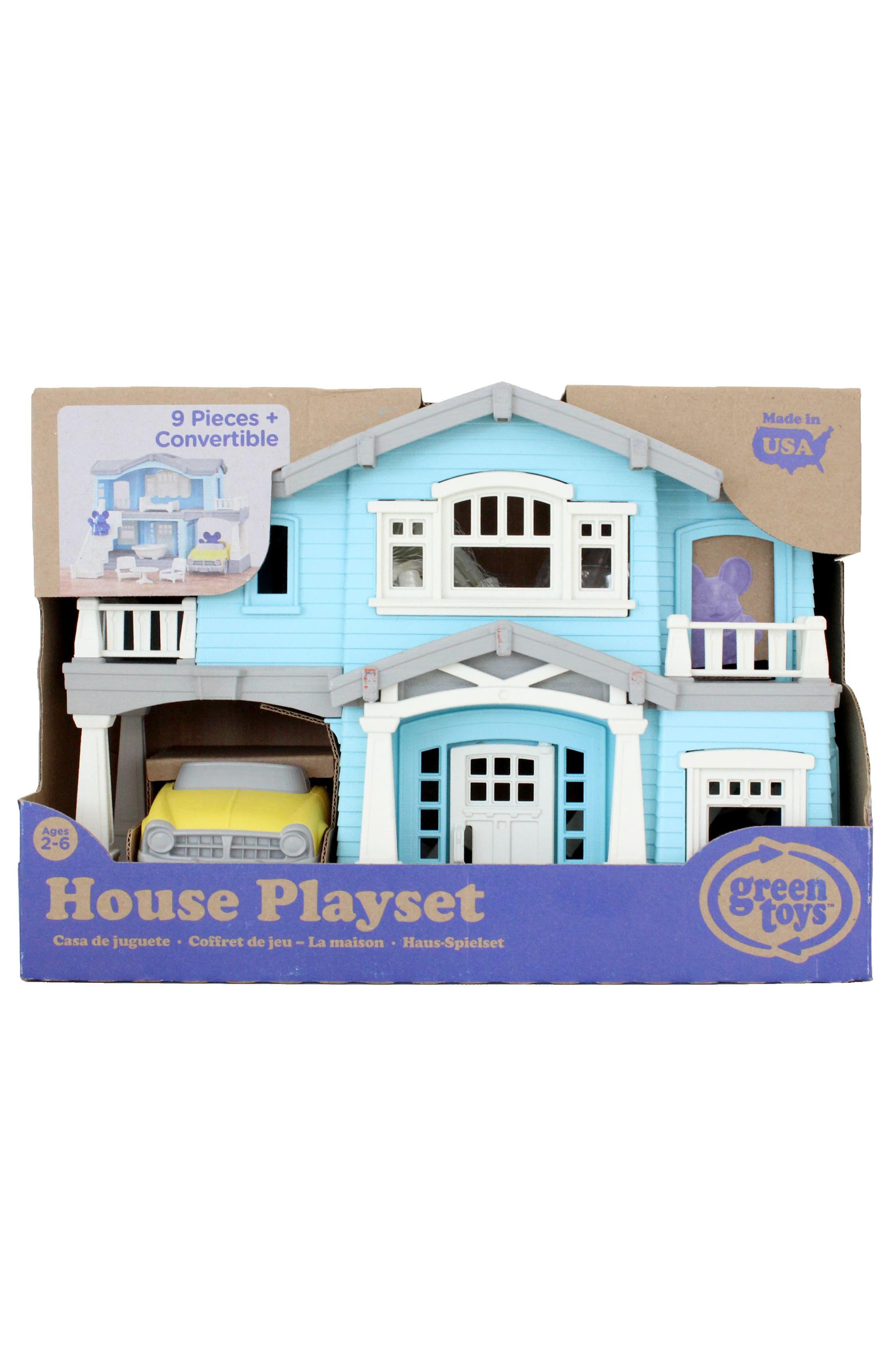 10-Piece House Play Set,                             Alternate thumbnail 3, color,                             450