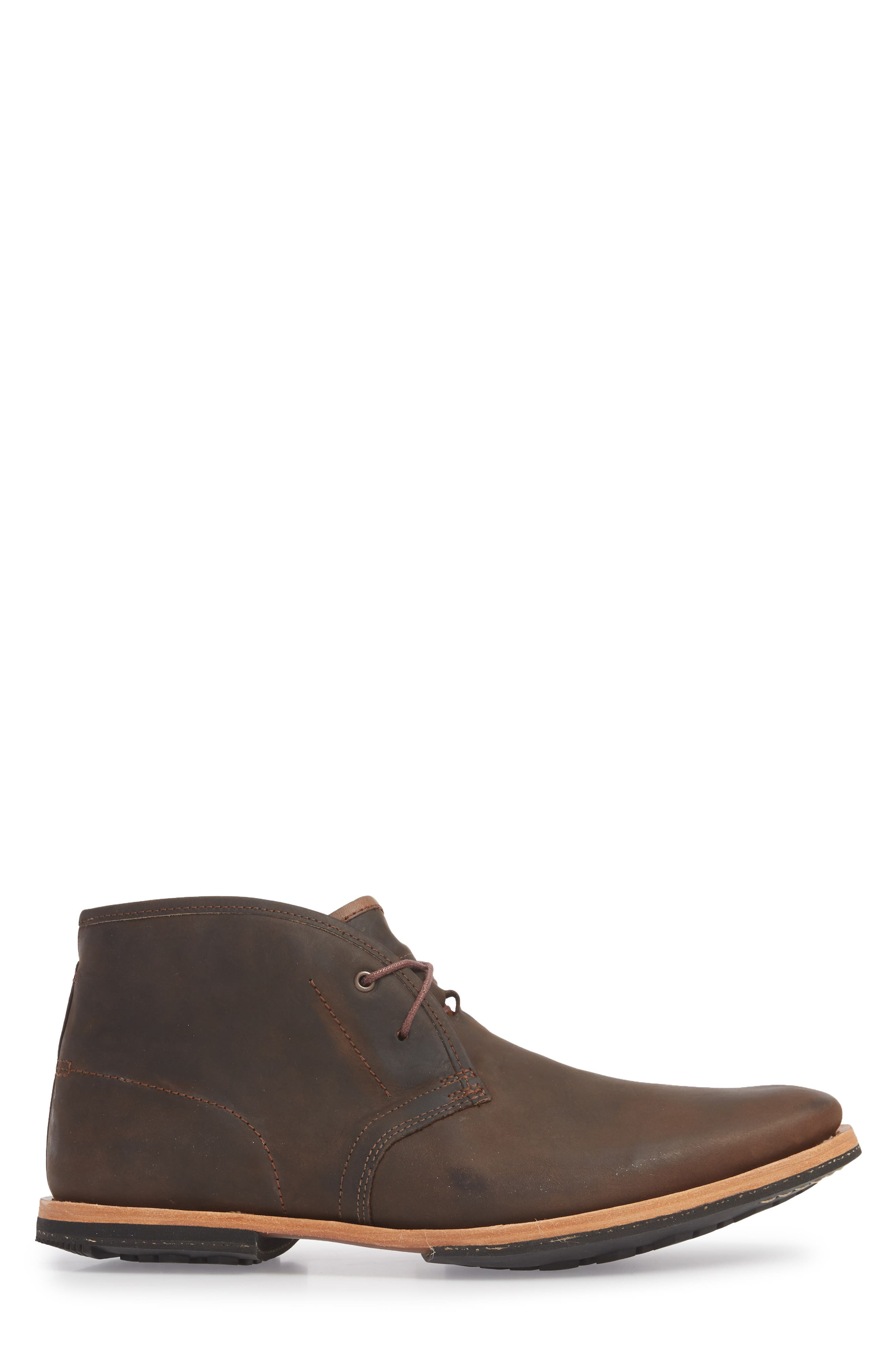 Wodehouse Lost History Chukka Boot,                             Alternate thumbnail 3, color,                             BROWN LEATHER