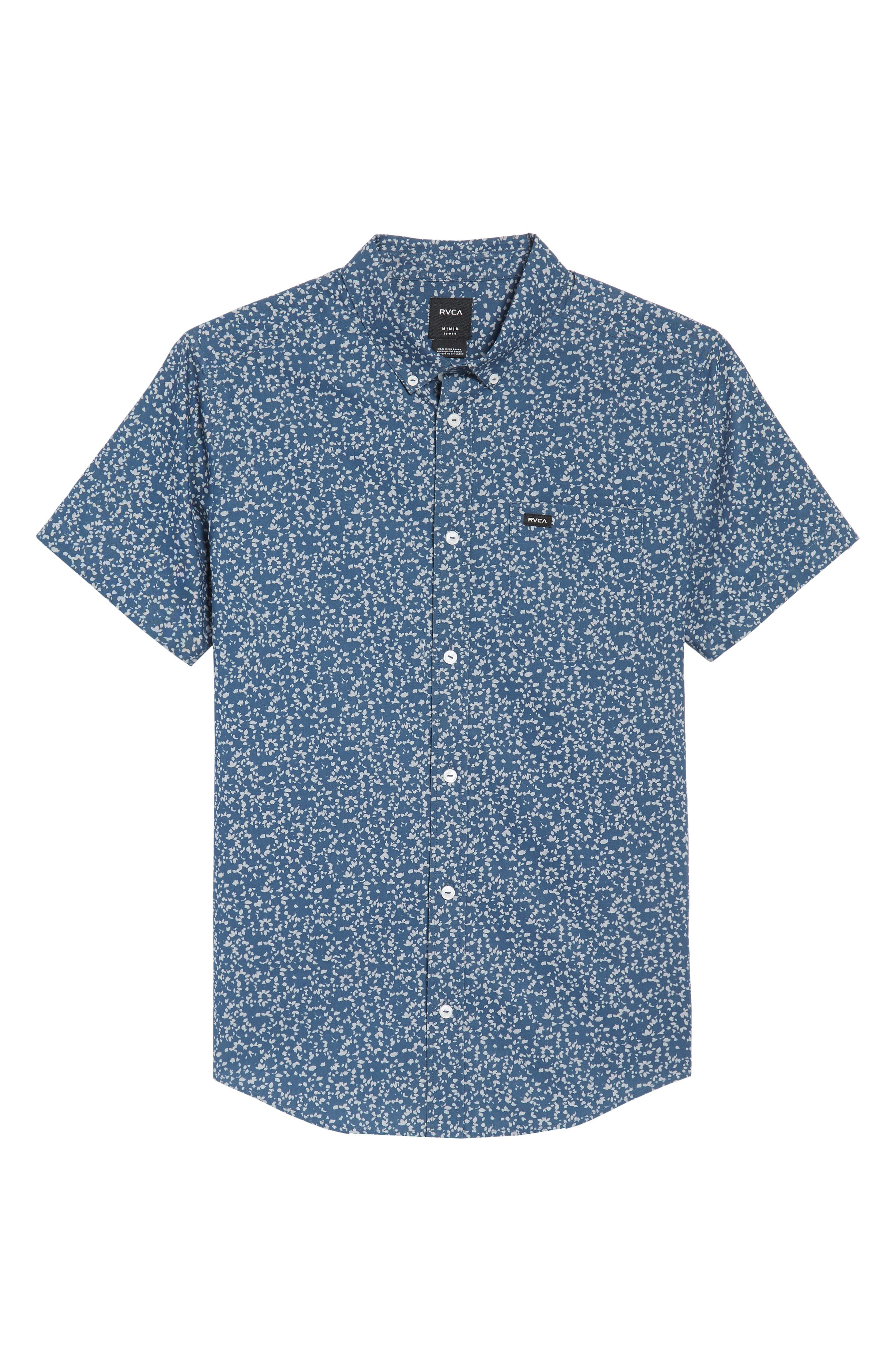 That'll Do Floral Woven Shirt,                             Alternate thumbnail 14, color,