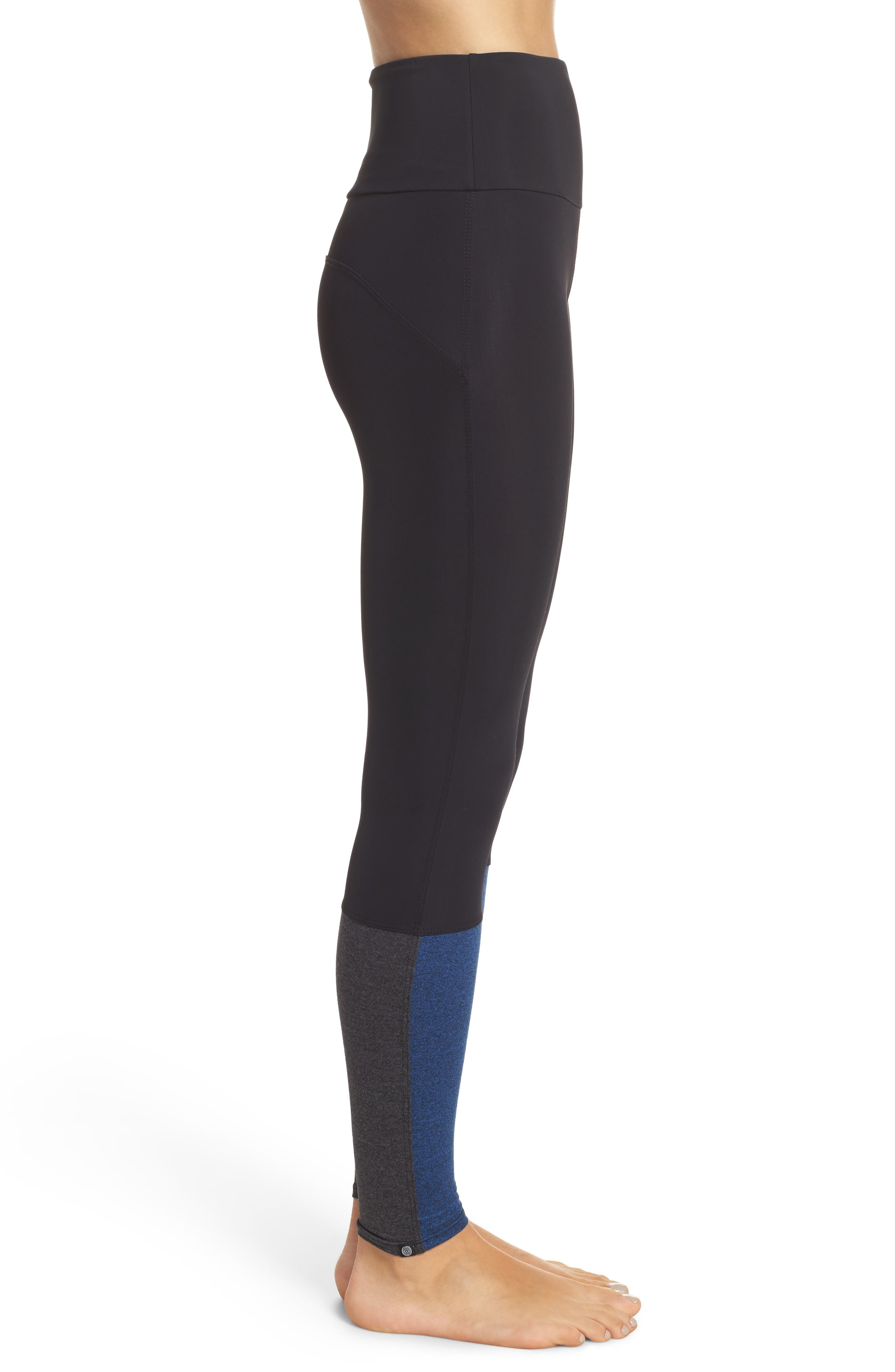 Street High Waist Leggings,                             Alternate thumbnail 8, color,