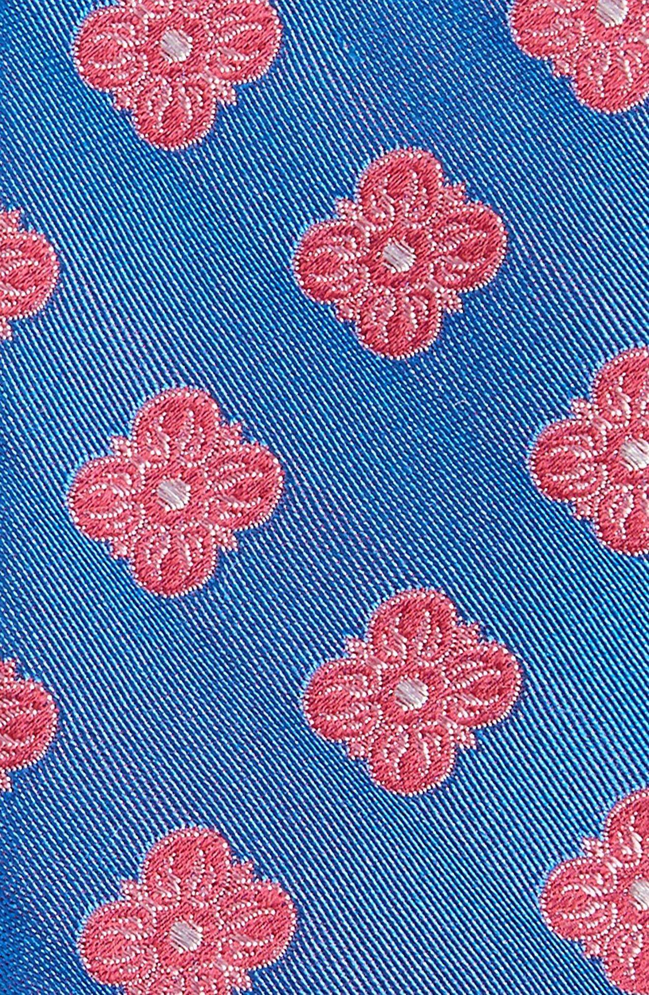 Cameron Floral Medallion Silk Tie,                             Alternate thumbnail 13, color,