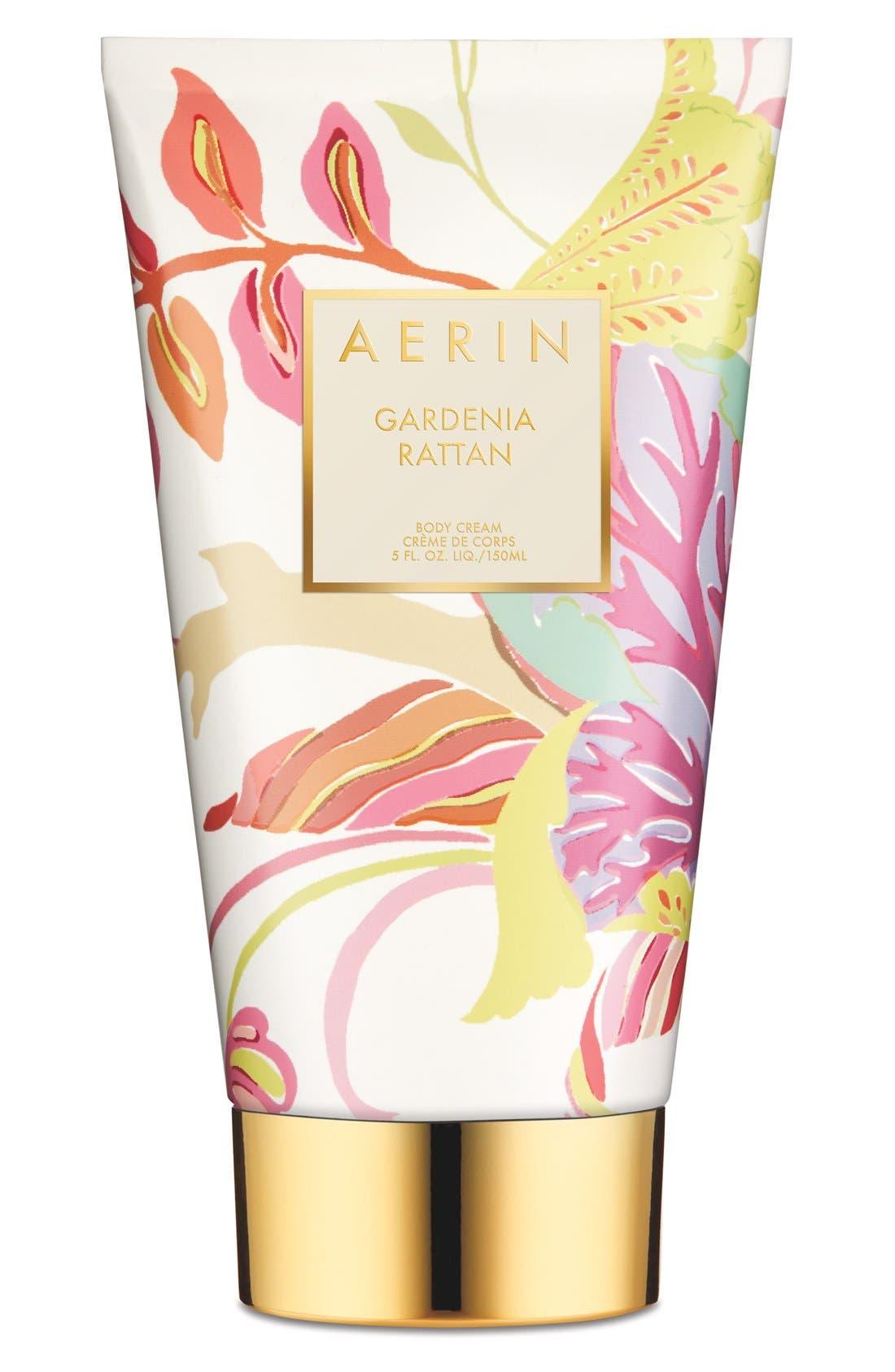 AERIN Beauty Gardenia Rattan Body Cream,                             Main thumbnail 1, color,                             000