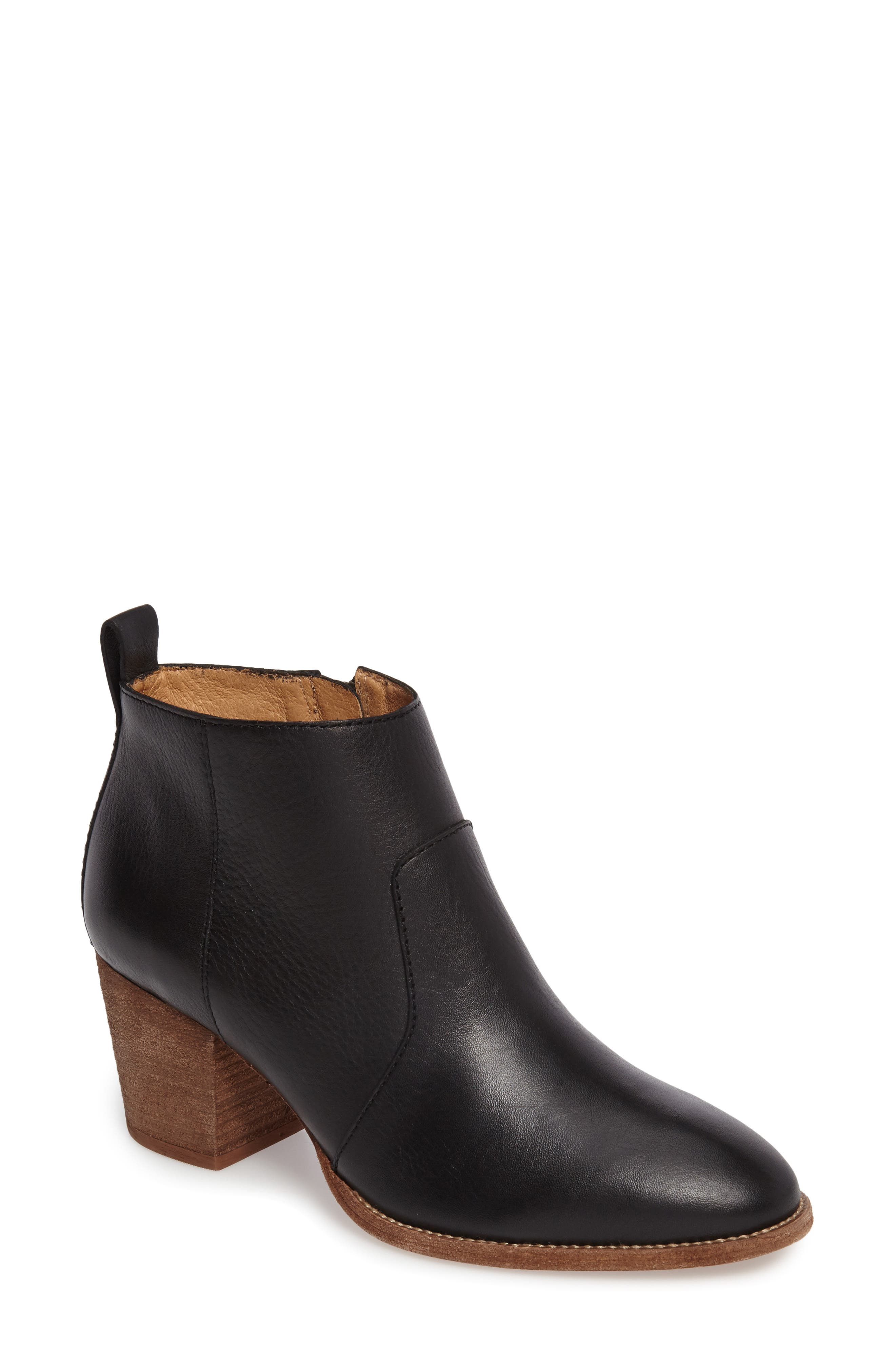 Brenner Bootie,                             Main thumbnail 1, color,                             001