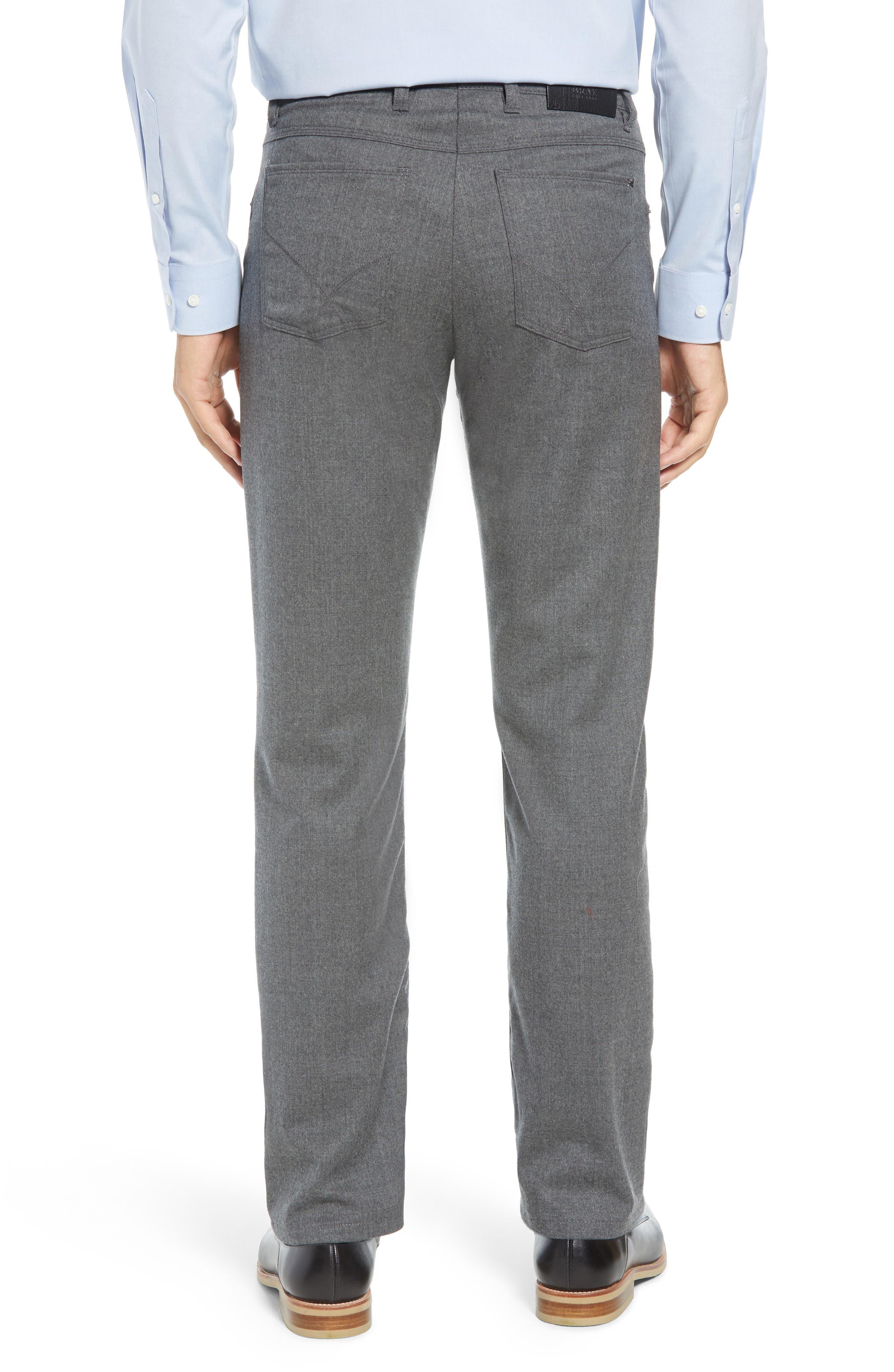 Enrico Five-Pocket Stretch Wool Trousers,                             Alternate thumbnail 2, color,                             GRAPHITE