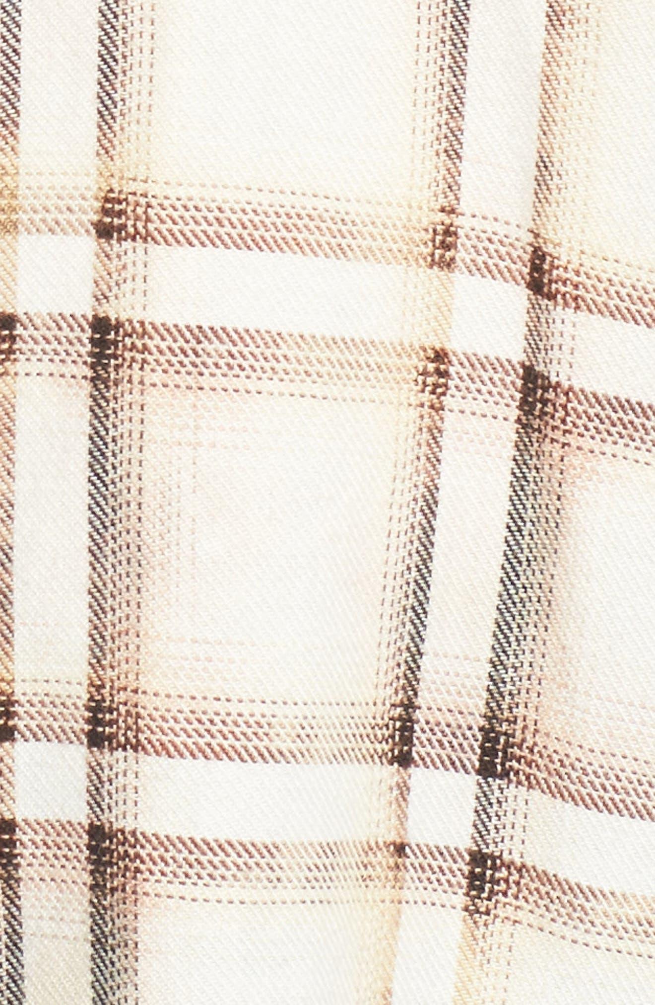 Josie Flannel Shirt,                             Alternate thumbnail 5, color,                             909
