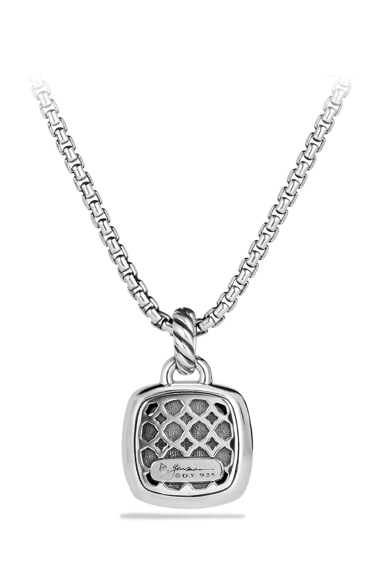'Albion' Pendant with Diamonds,                             Alternate thumbnail 4, color,                             BLACK DIAMOND