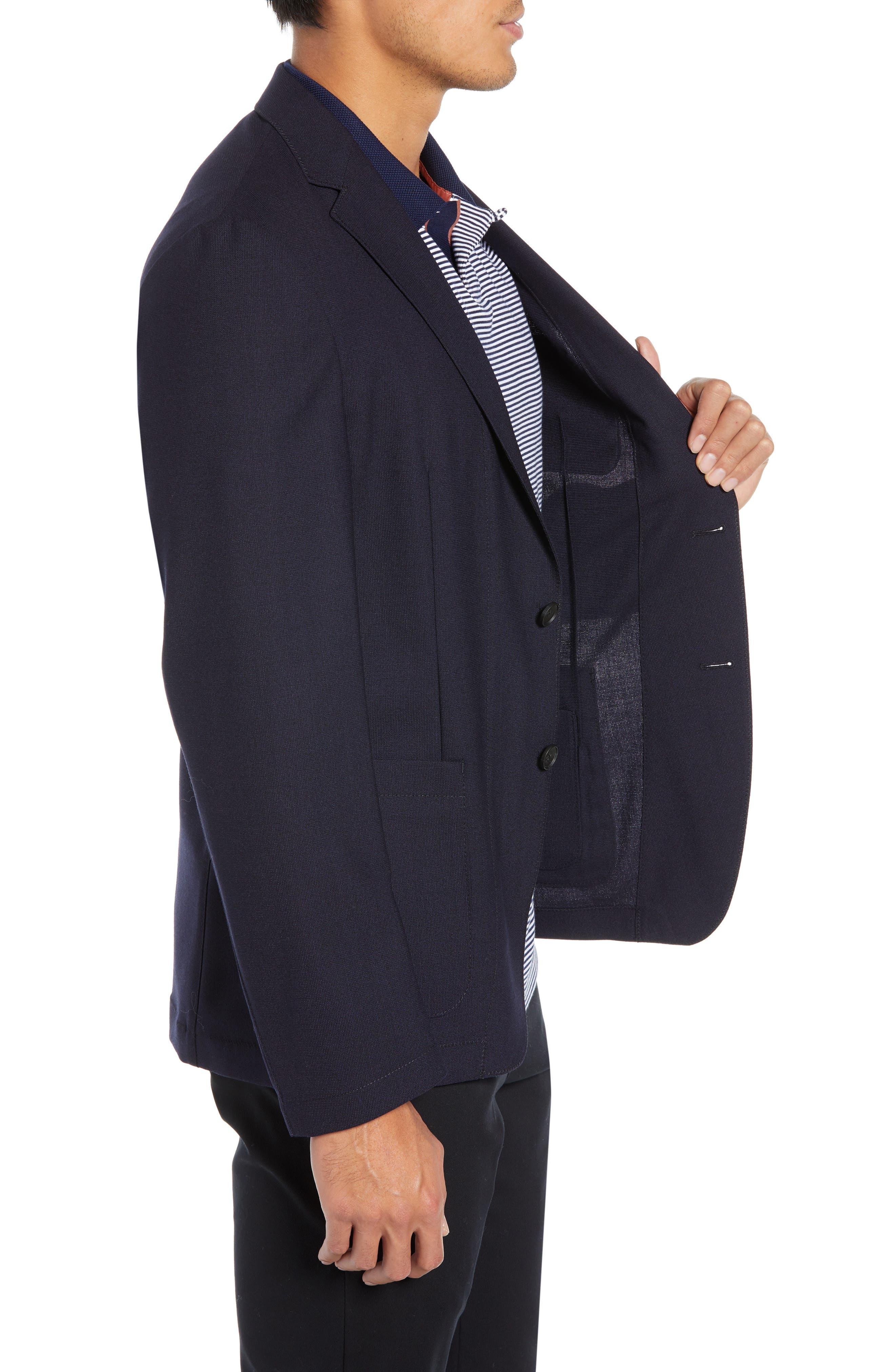 Noswen Slim Fit Sport Coat,                             Alternate thumbnail 3, color,                             BLUE