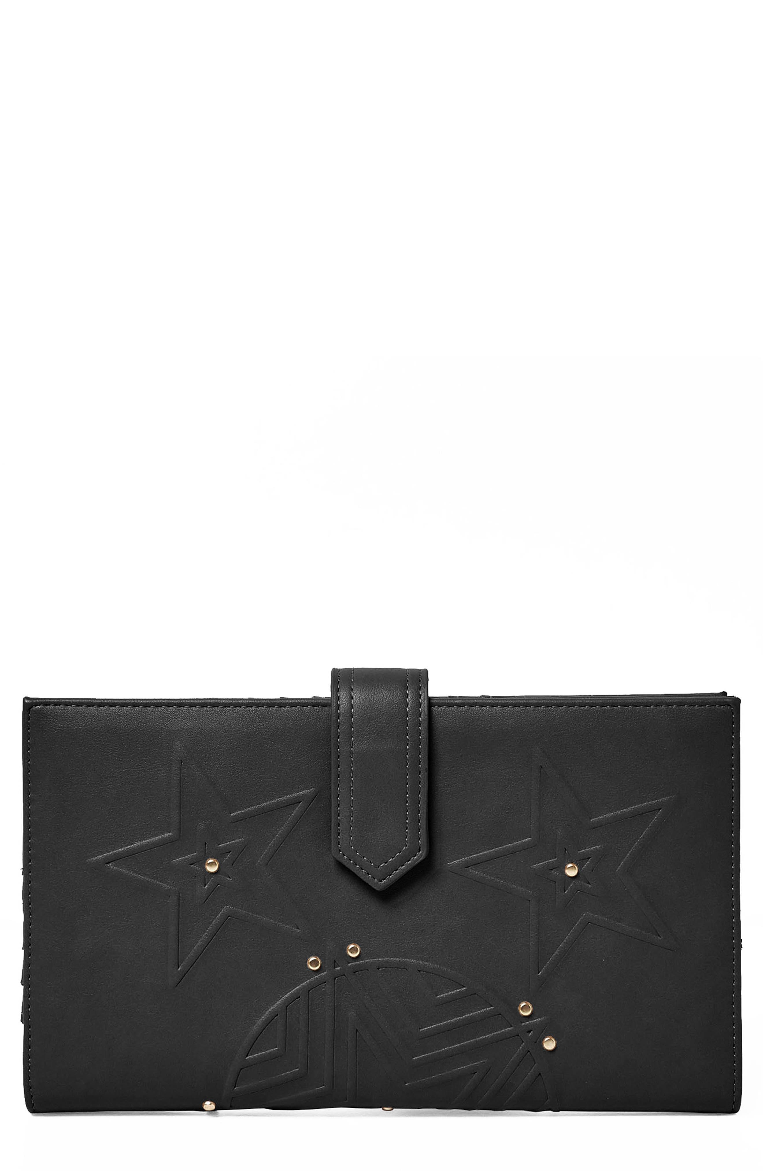 Starstruck Vegan Leather Wallet,                         Main,                         color,
