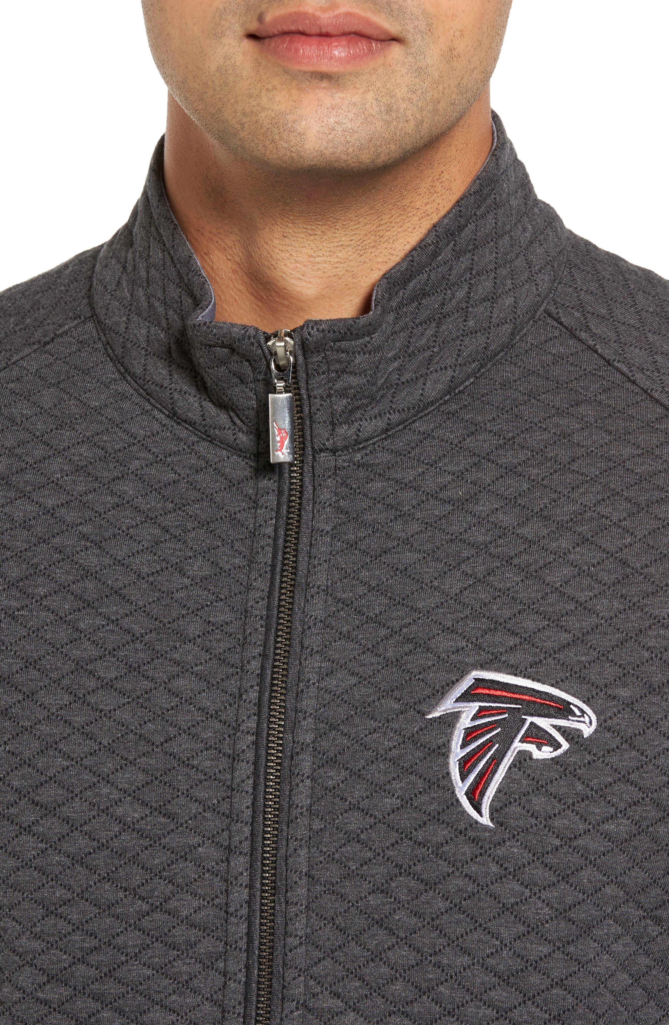 NFL Quiltessential Full Zip Sweatshirt,                             Alternate thumbnail 108, color,
