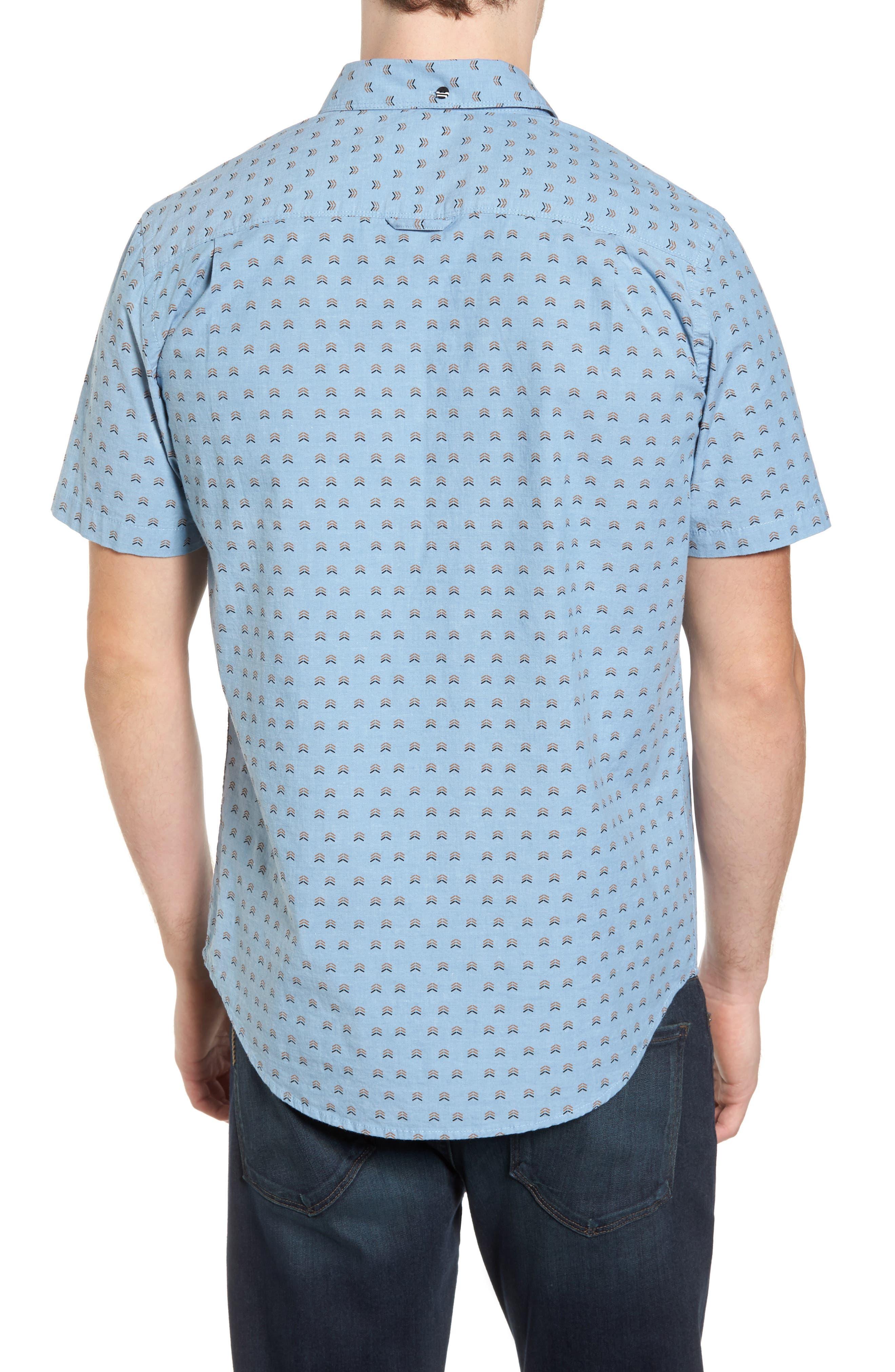 Brooks Woven Shirt,                             Alternate thumbnail 6, color,