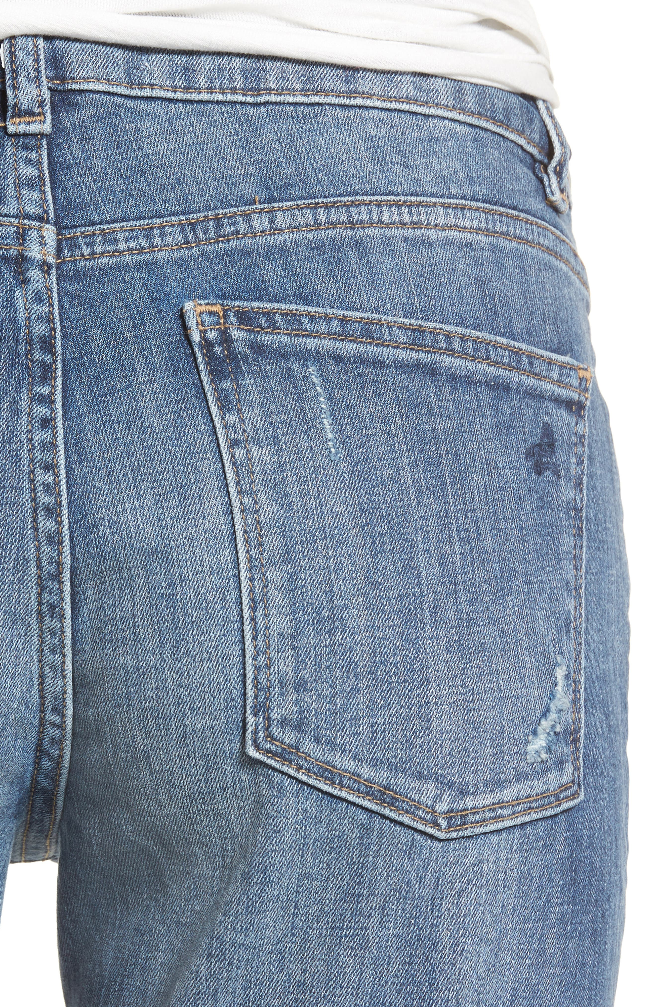 Davis Ankle Girlfriend Jeans,                             Alternate thumbnail 4, color,                             425