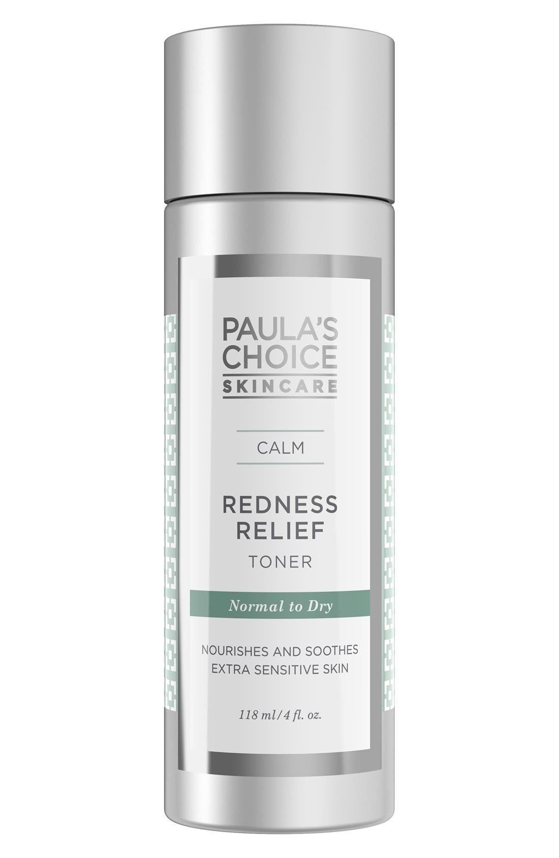 Calm Redness Relief Toner,                             Main thumbnail 1, color,                             NO COLOR