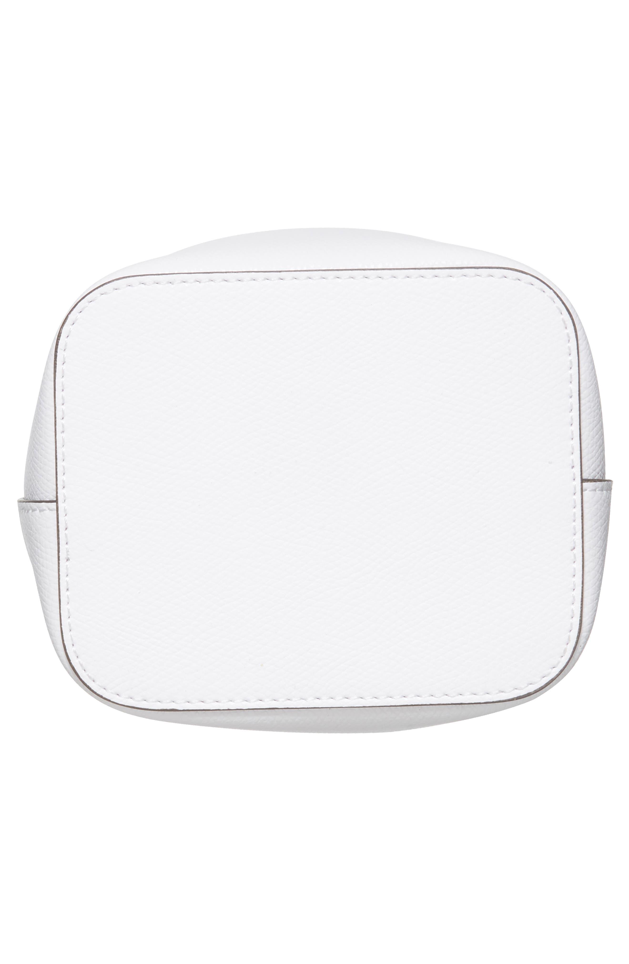Mini Leather Bucket Bag,                             Alternate thumbnail 11, color,