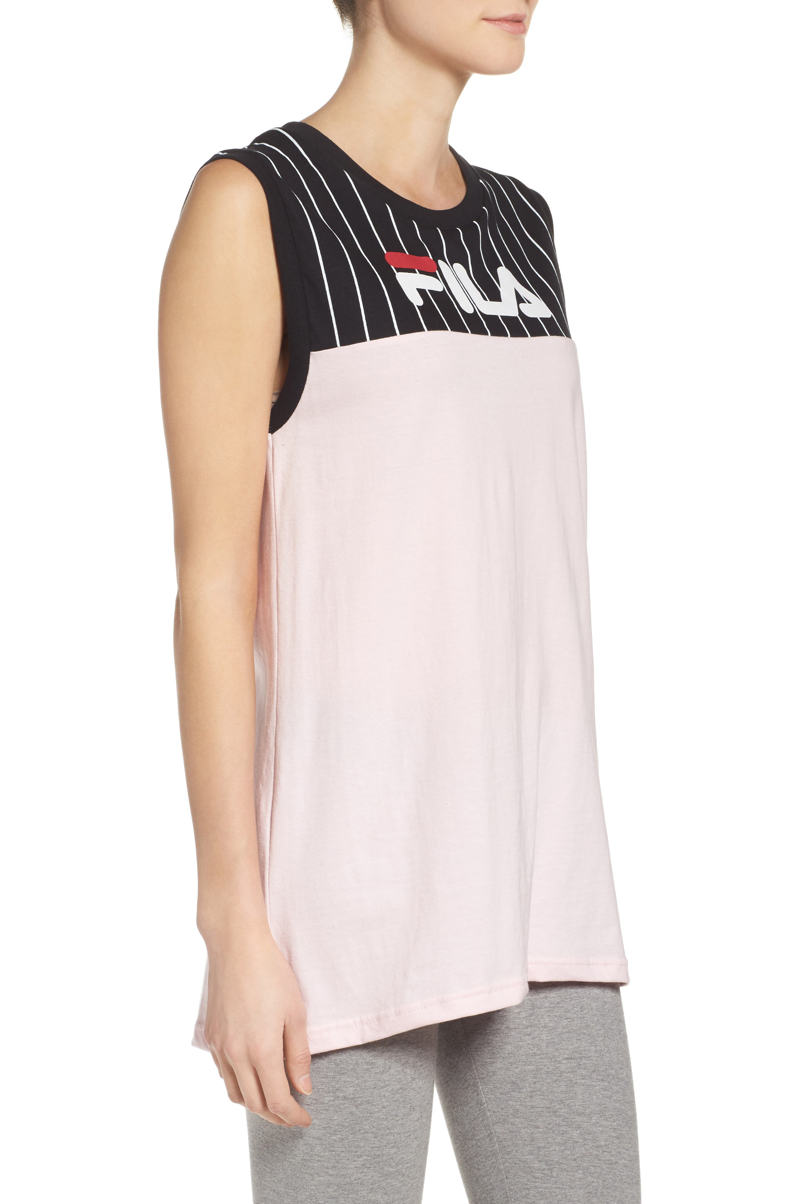 Lucia Muscle Tee,                             Alternate thumbnail 6, color,