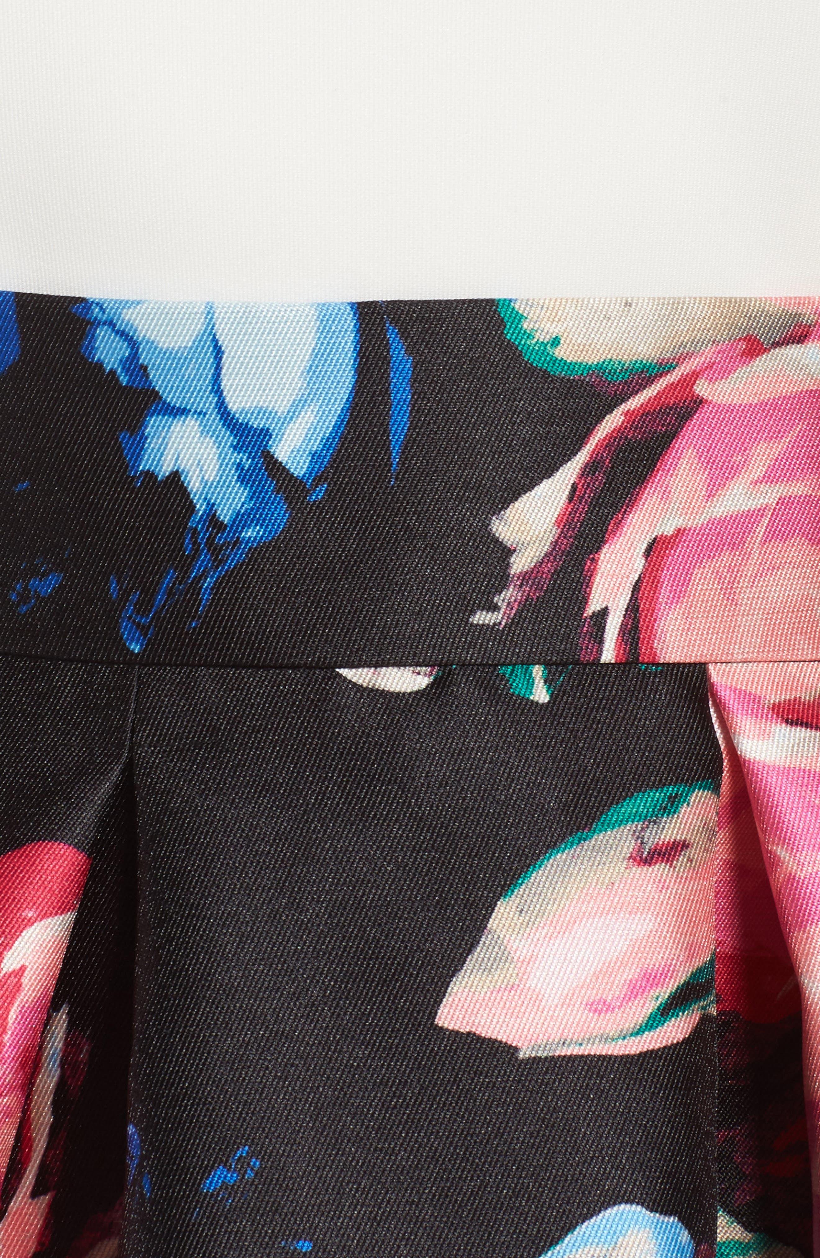Faille Ball Skirt,                             Alternate thumbnail 5, color,                             006