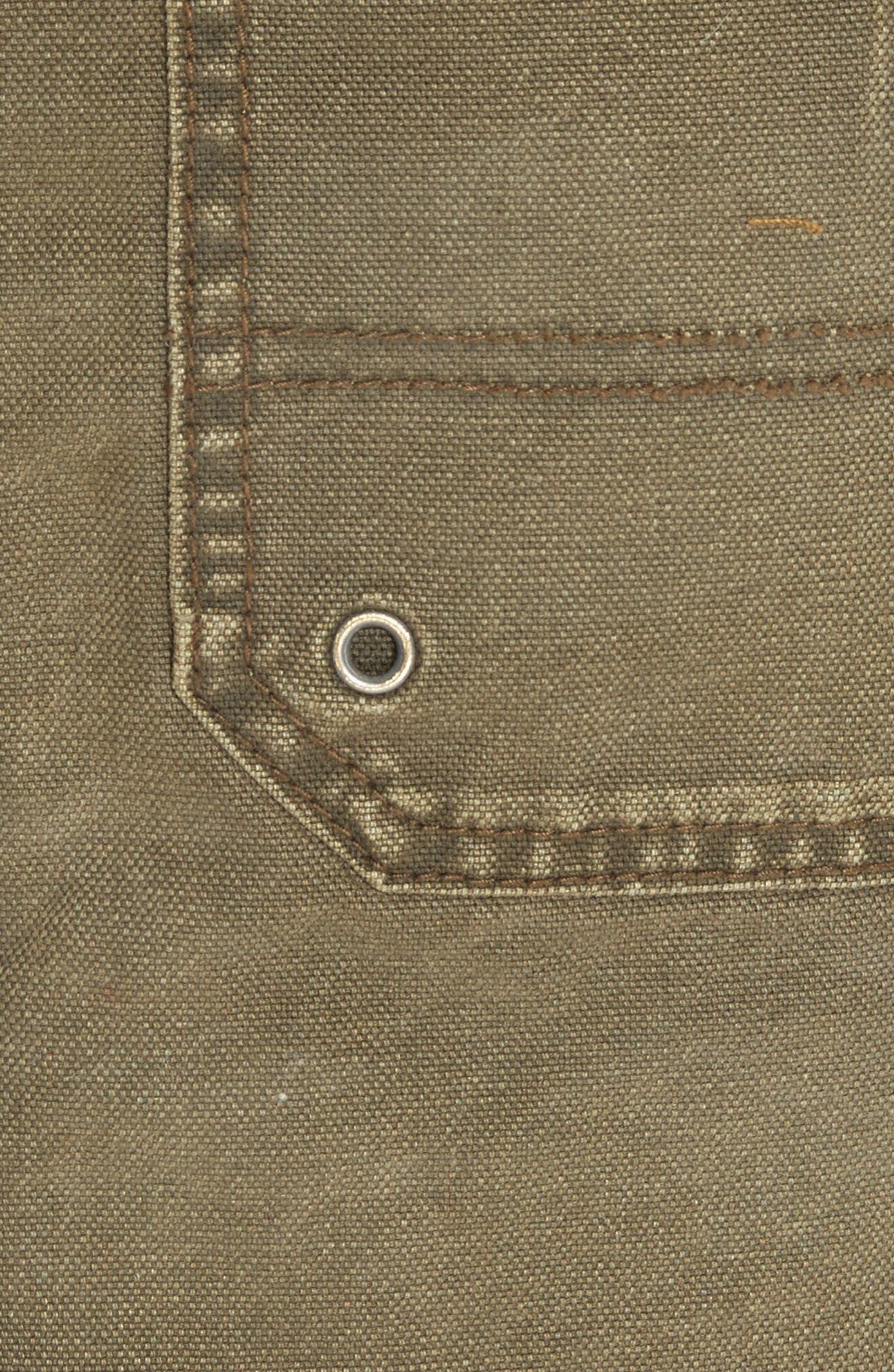 Canvas Miniskirt,                             Alternate thumbnail 14, color,