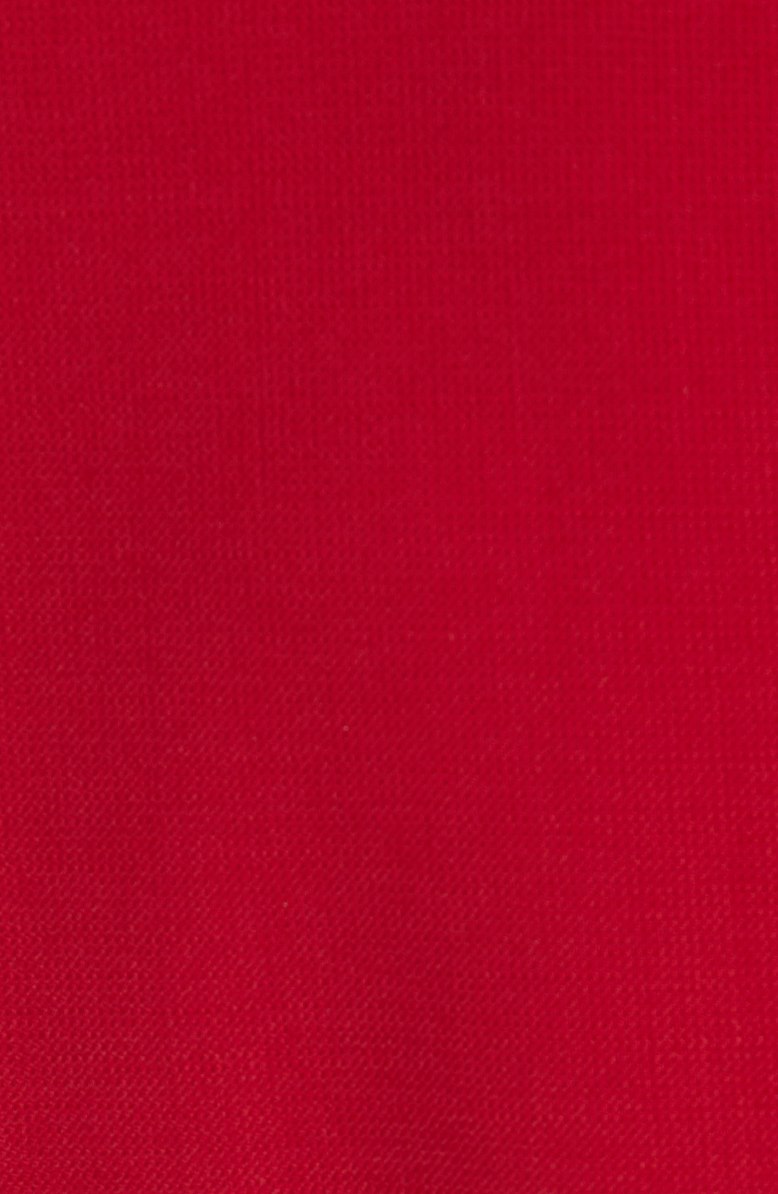 Danufa Stretch Wool Sheath Dress,                             Alternate thumbnail 6, color,                             DARK RED