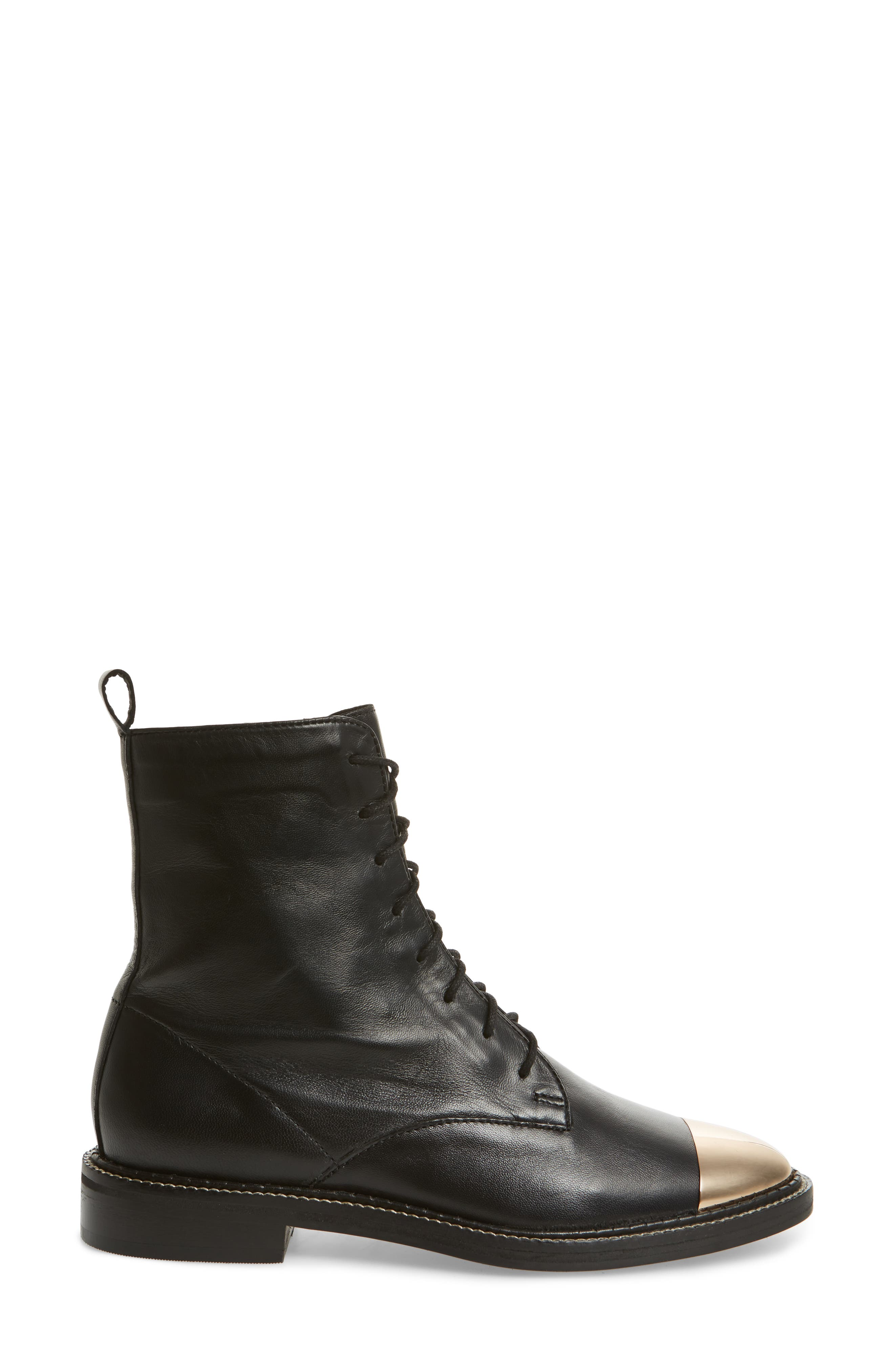 Axel Cap Toe Boot,                             Alternate thumbnail 3, color,                             001