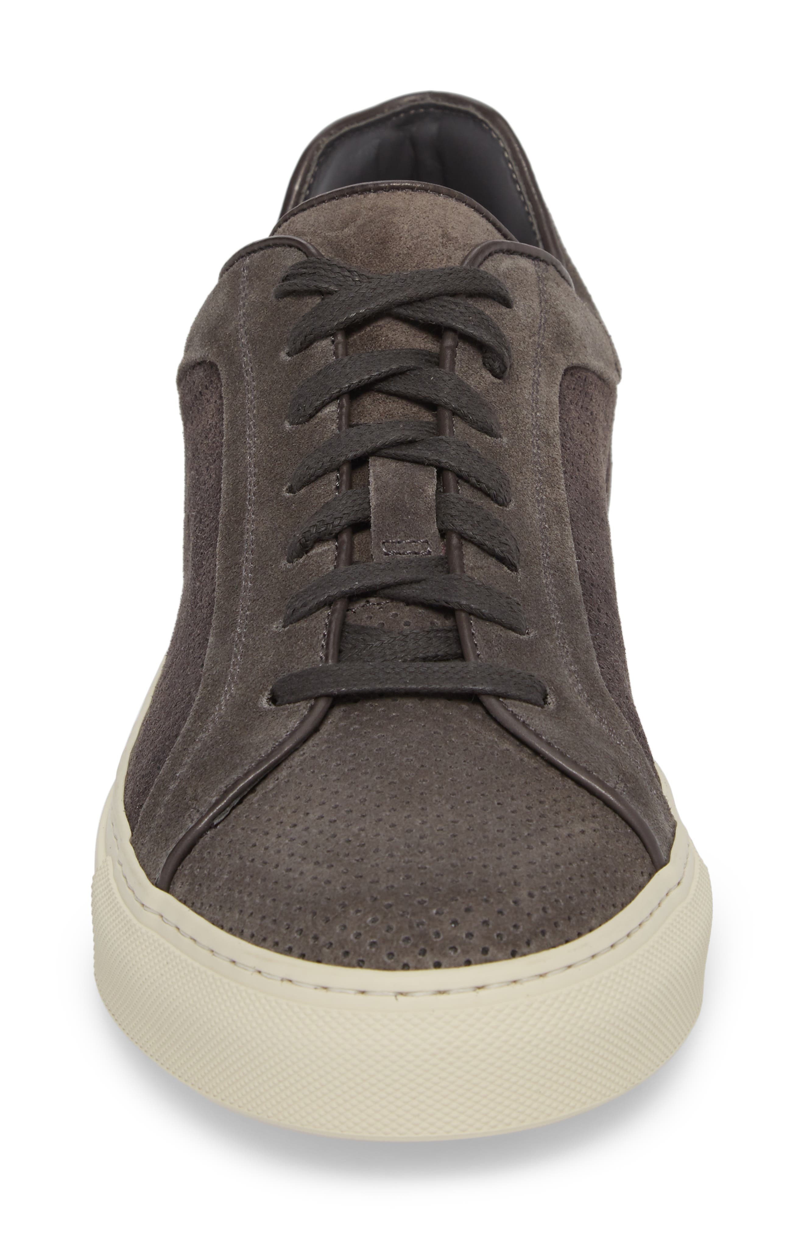 Hendrick Perforated Sneaker,                             Alternate thumbnail 4, color,
