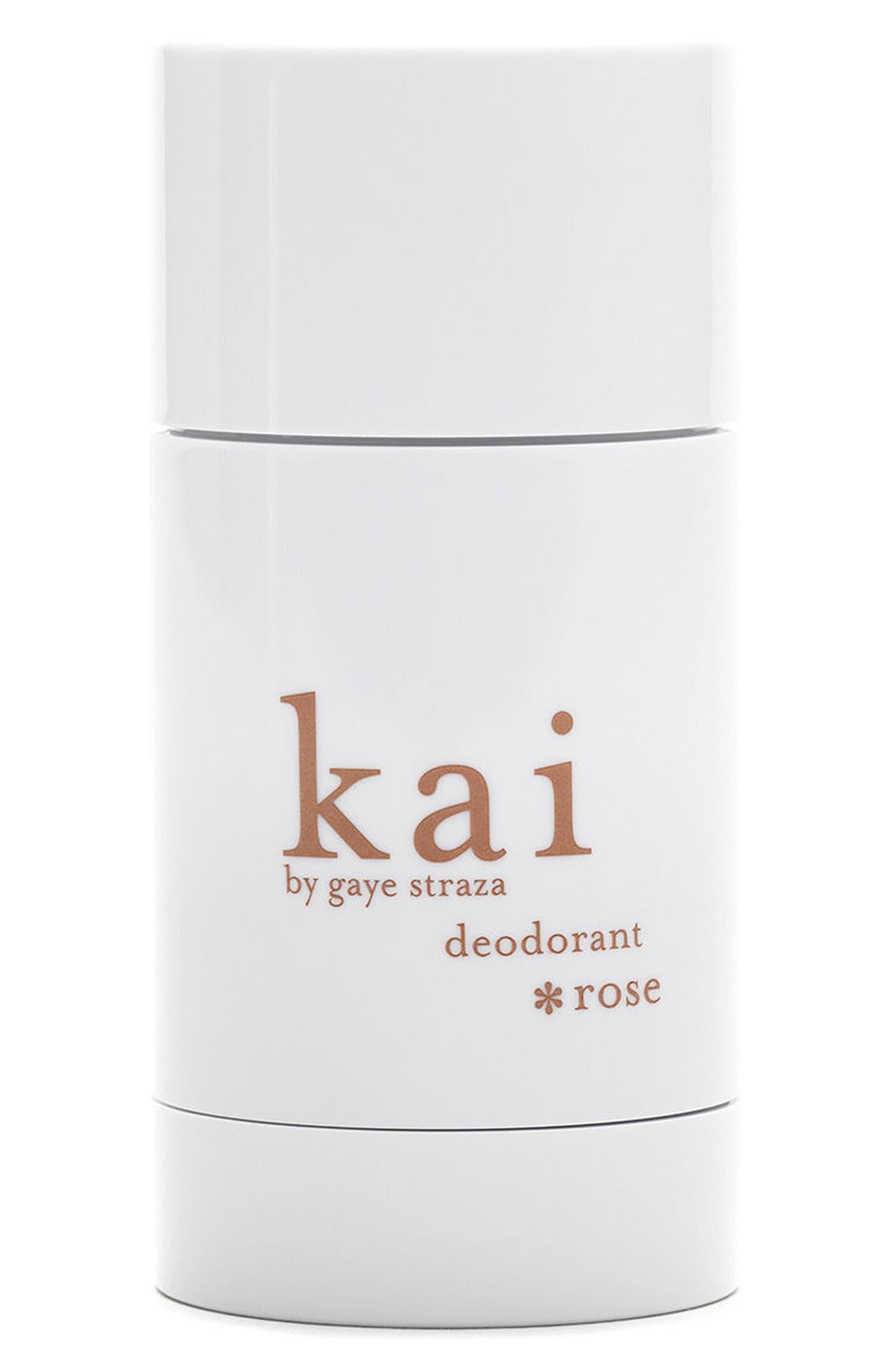 KAI,                             Rose Deodorant,                             Main thumbnail 1, color,                             000
