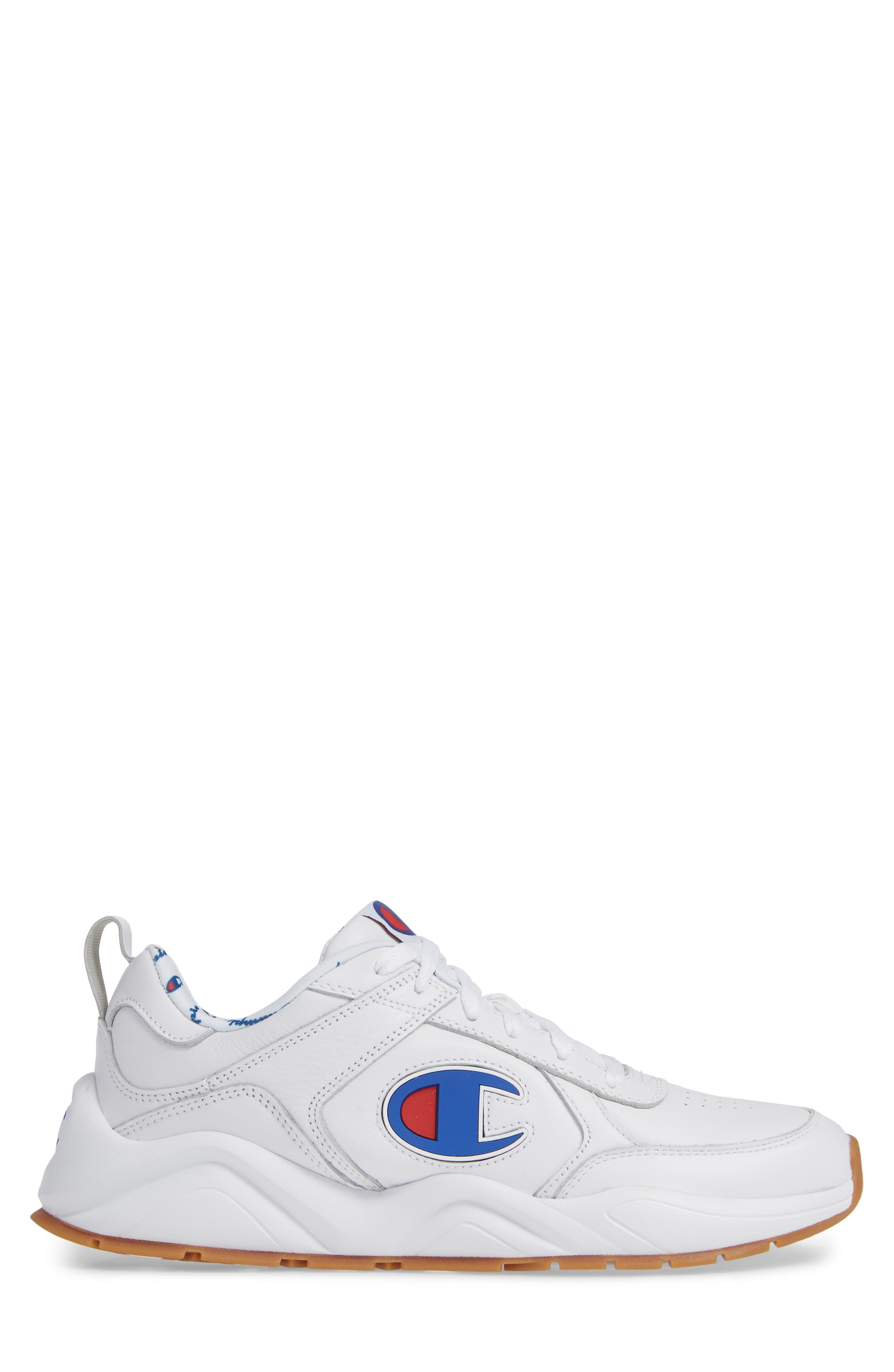 Bones Big-C Sneaker,                             Alternate thumbnail 3, color,                             WHITE
