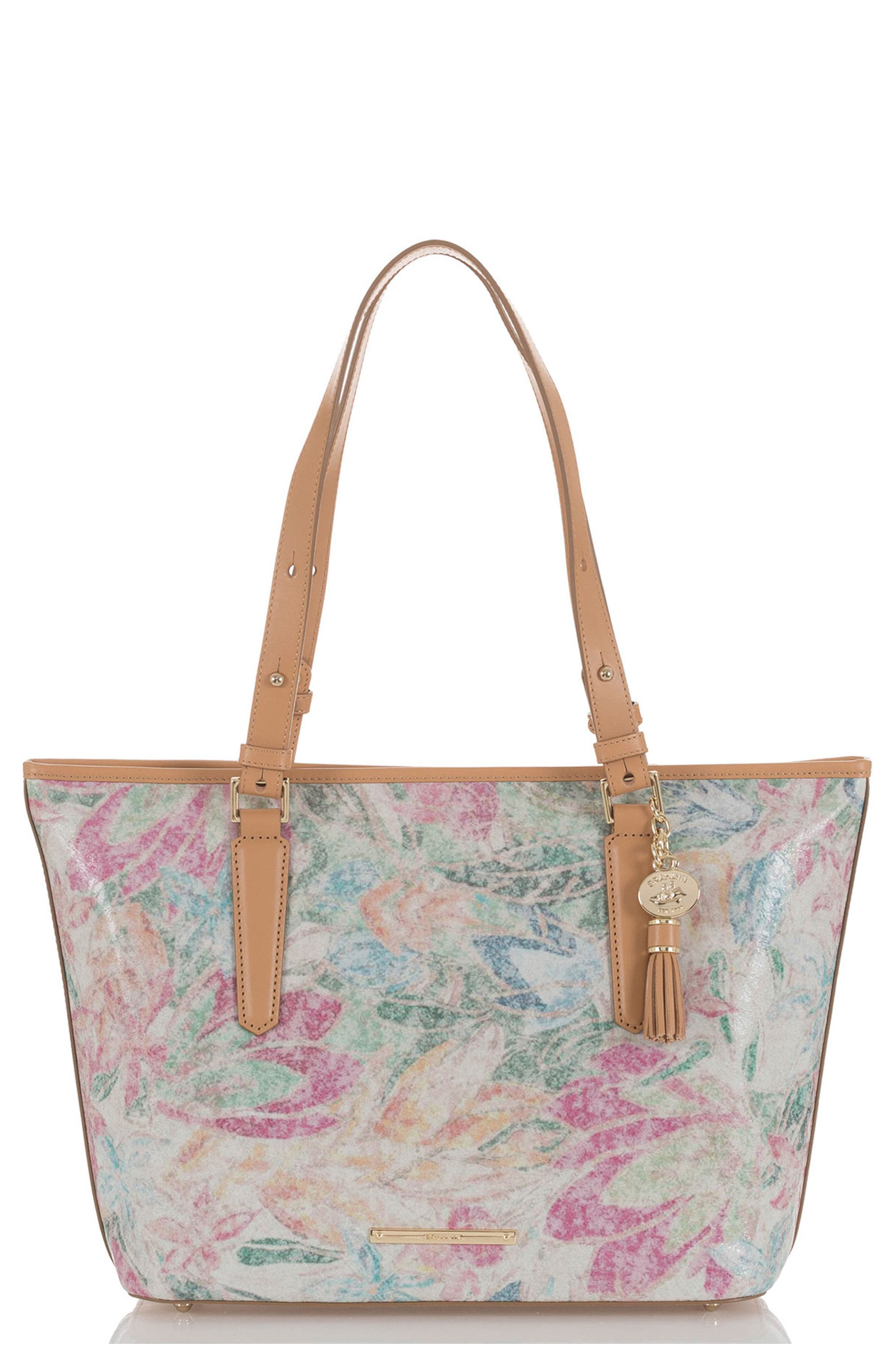 Floral Medium Asher Tote,                         Main,                         color, 250