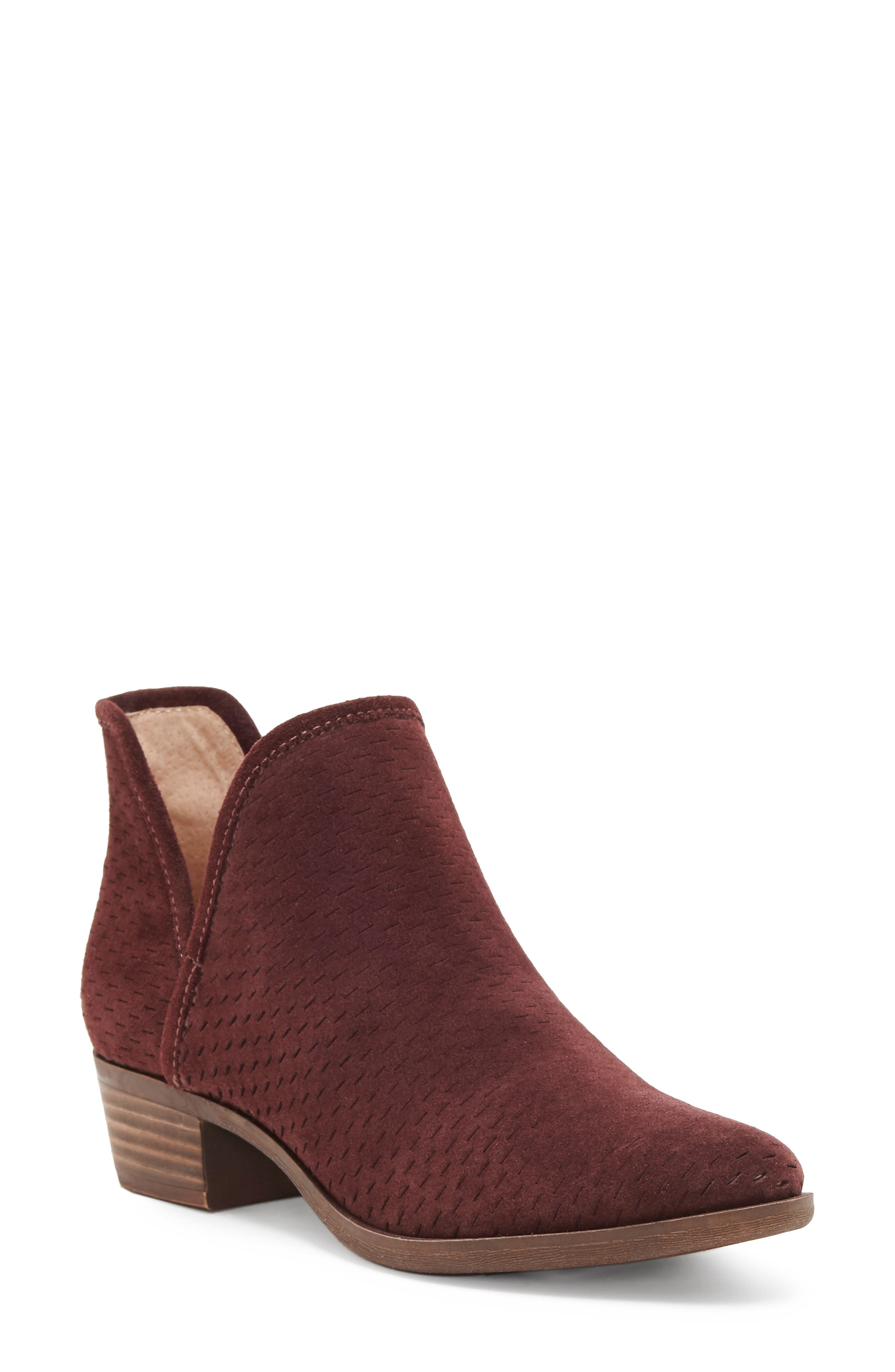 Lucky Brand Baley Bootie- Purple